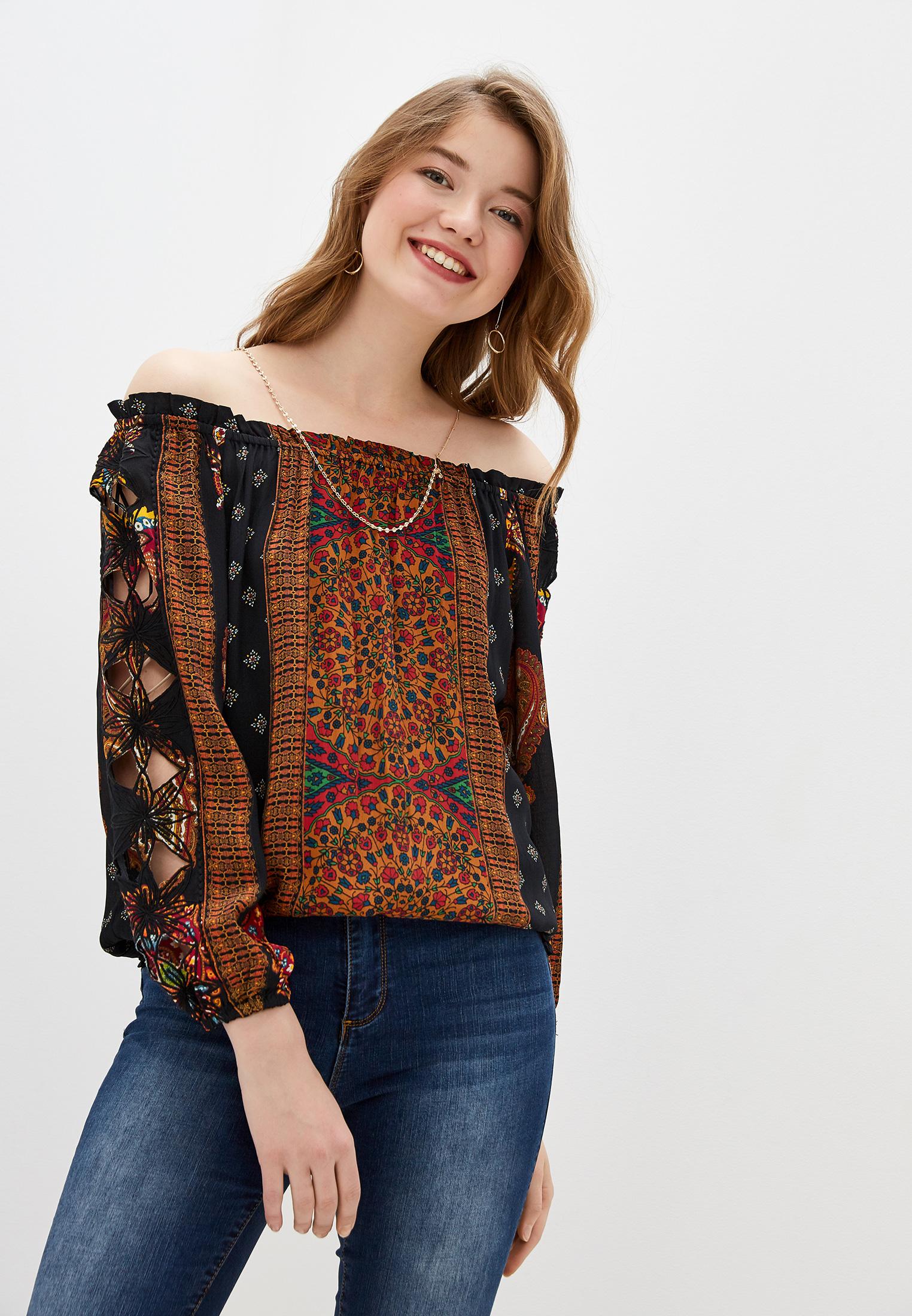 Блуза Desigual (Дезигуаль) 19WWBW23