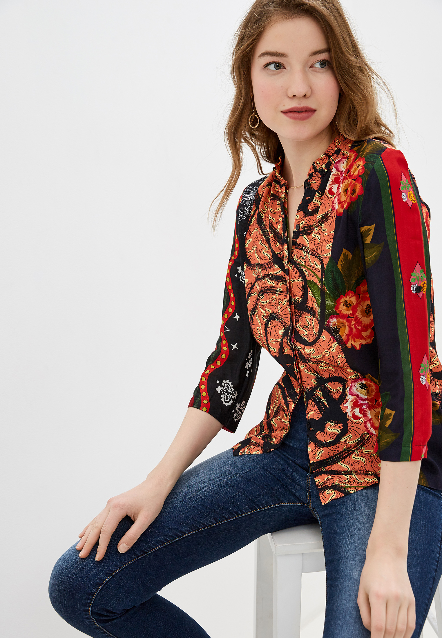 Блуза Desigual (Дезигуаль) 19WWCW11