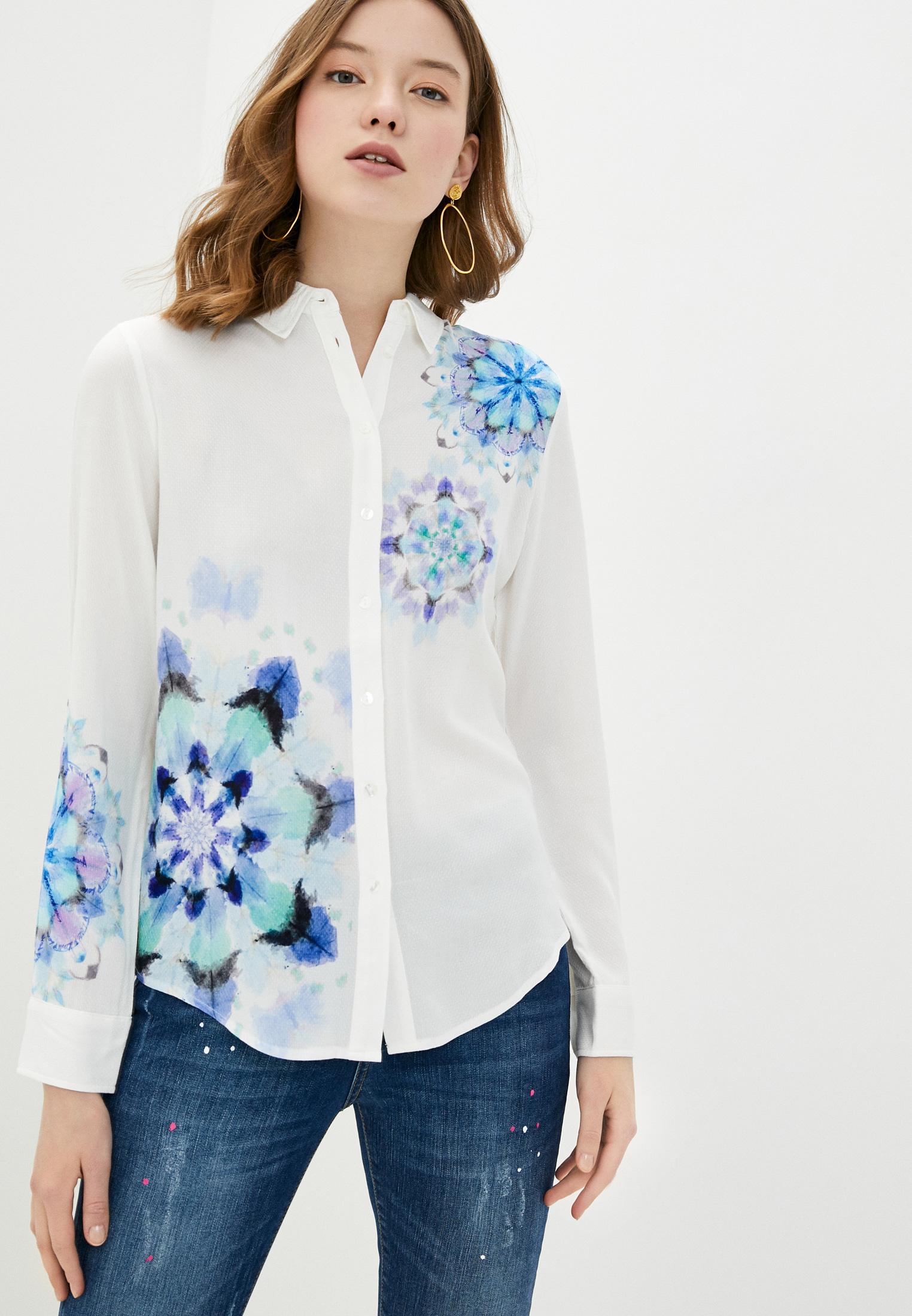 Женские рубашки с длинным рукавом Desigual (Дезигуаль) 20SWCW71