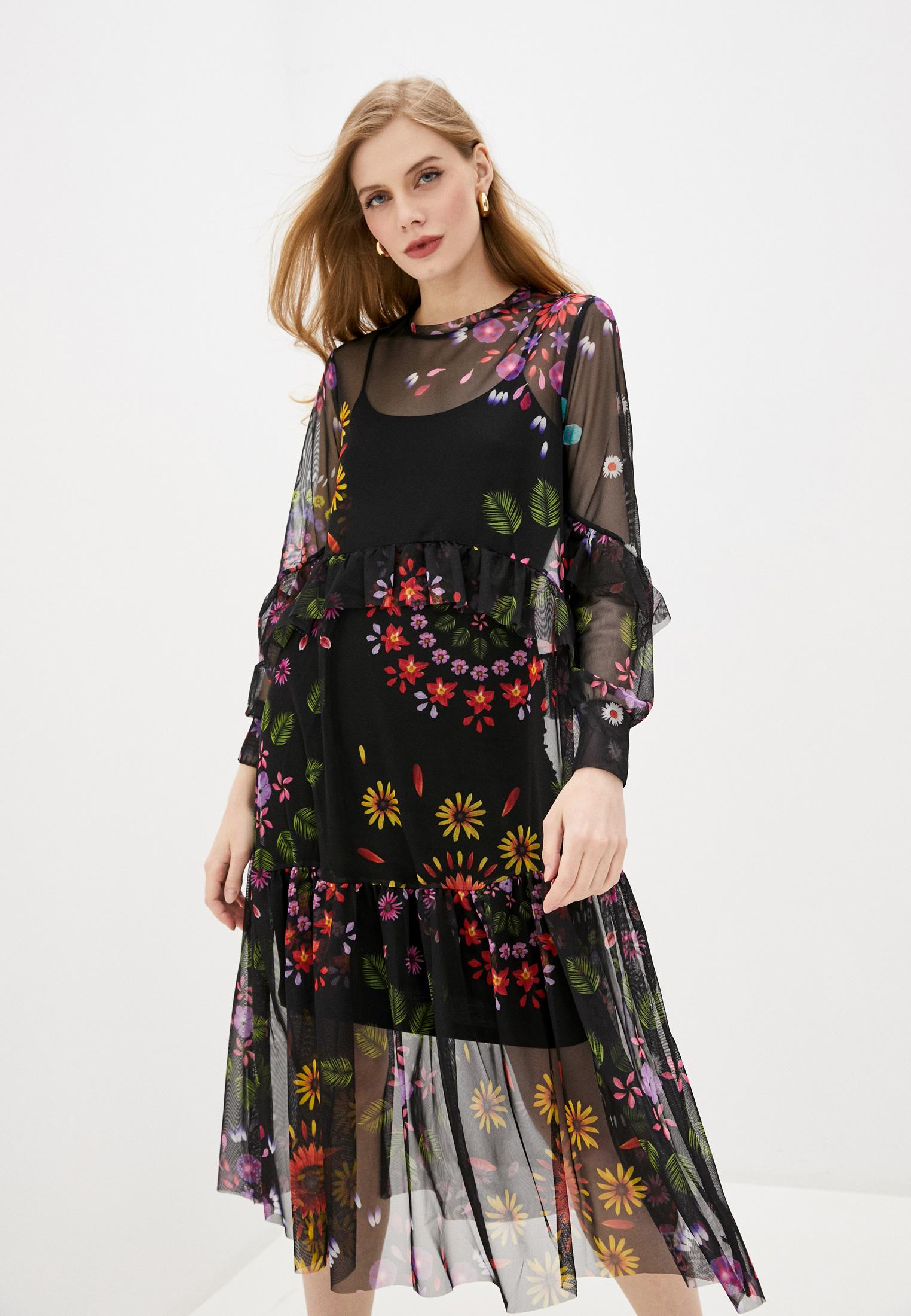 Вечернее / коктейльное платье Desigual (Дезигуаль) 20SWVK66