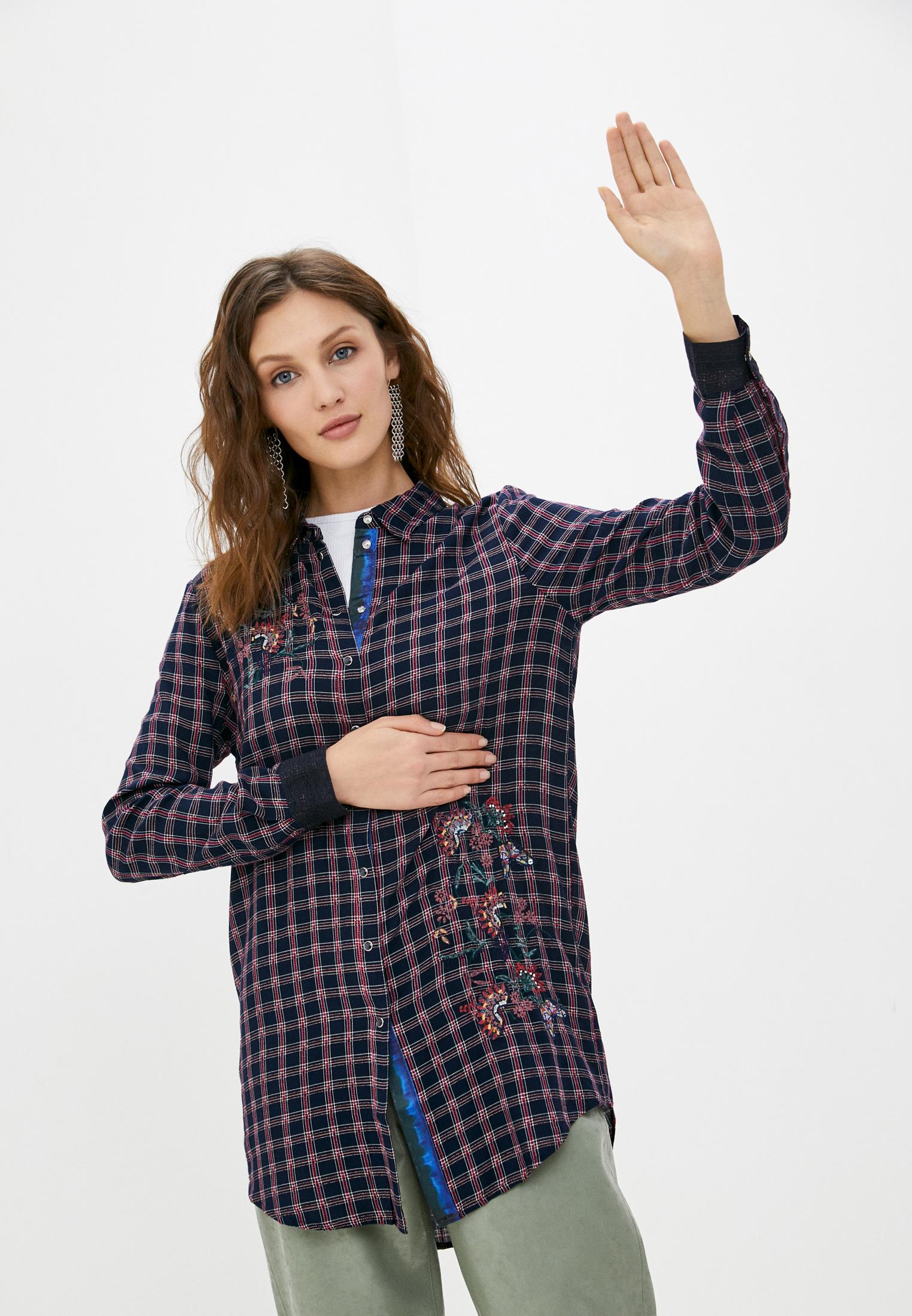 Женские рубашки с длинным рукавом Desigual (Дезигуаль) 20WWCW80