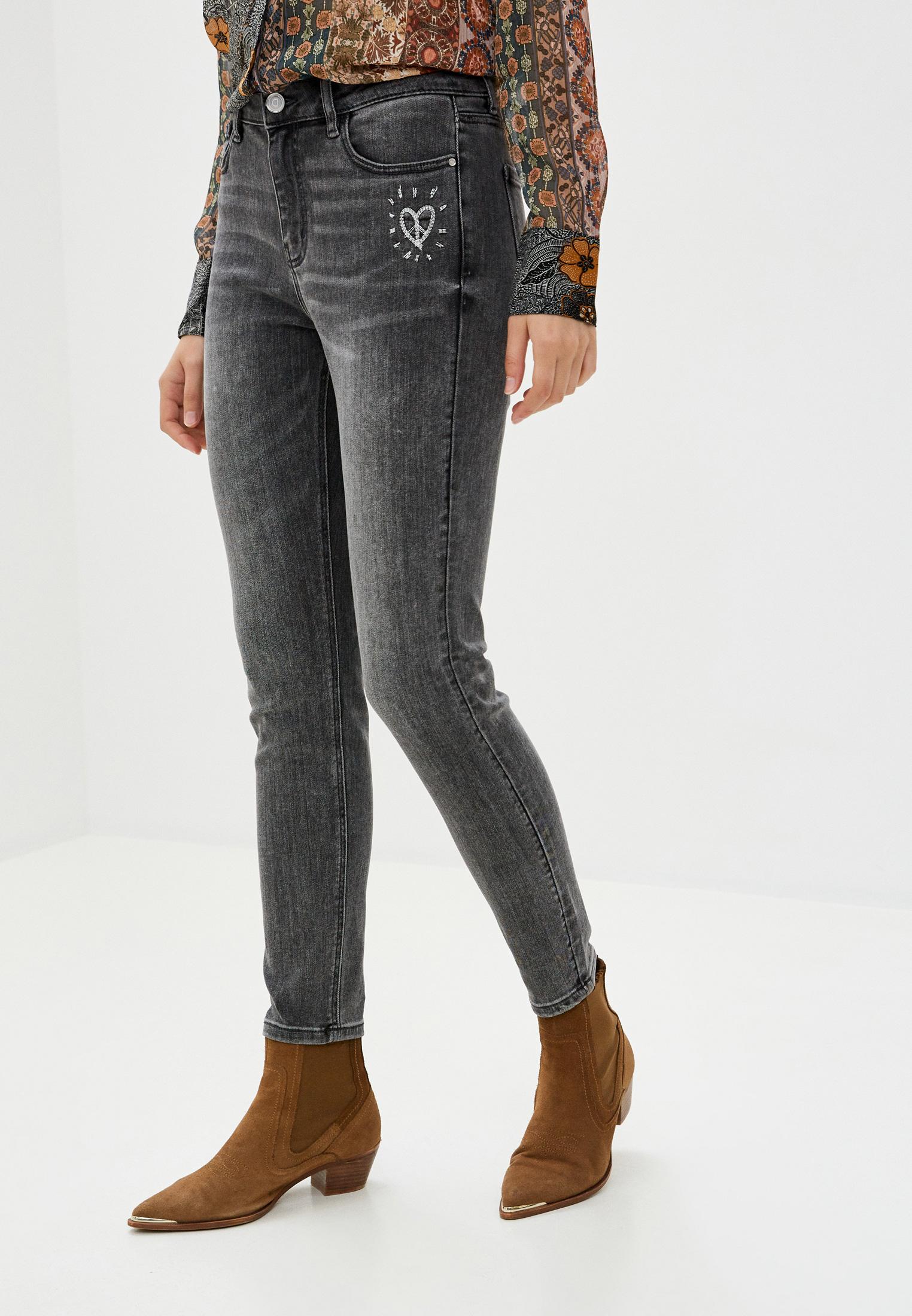 Зауженные джинсы Desigual (Дезигуаль) 20WWDD17