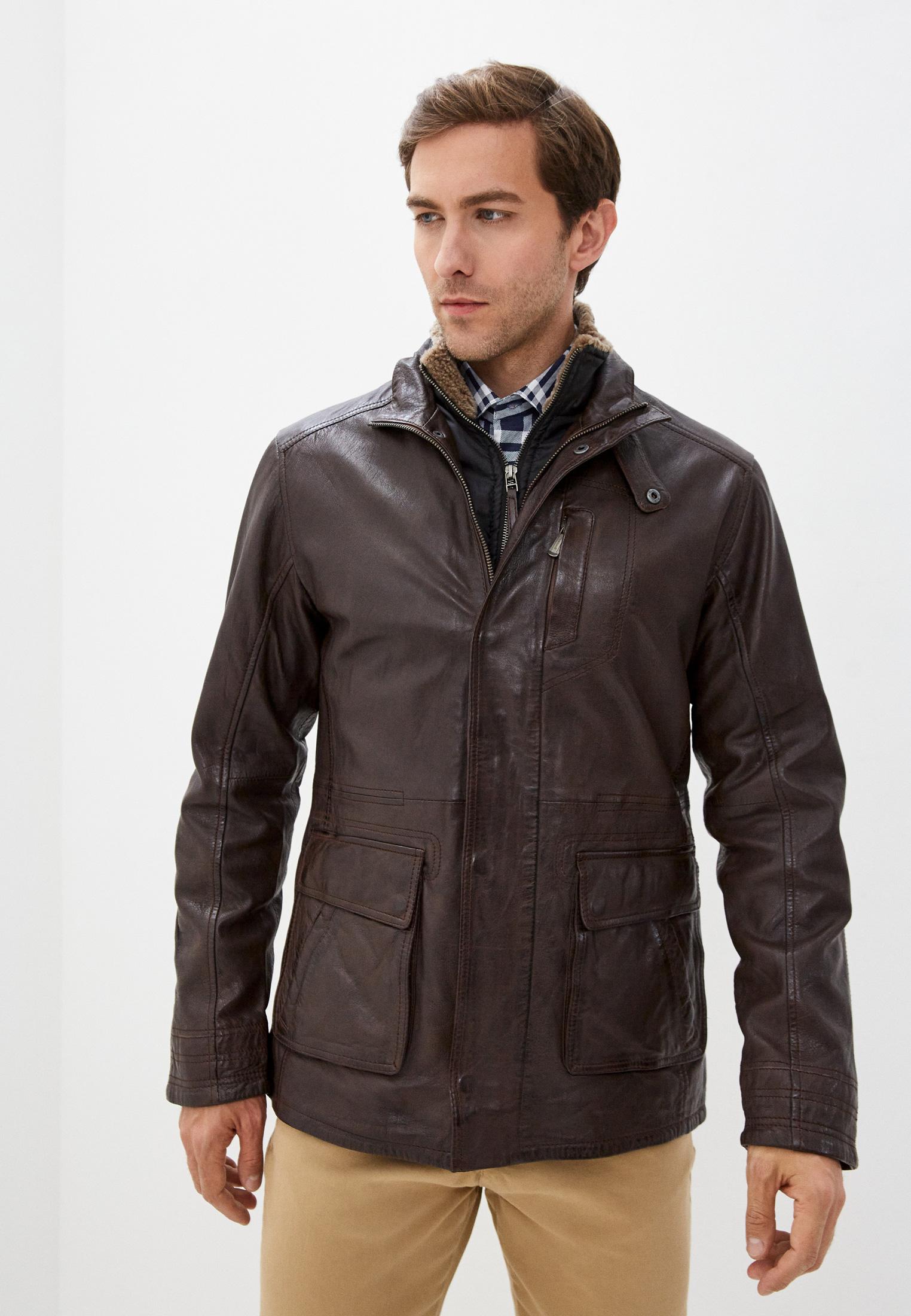 Кожаная куртка Deercraft M0012794