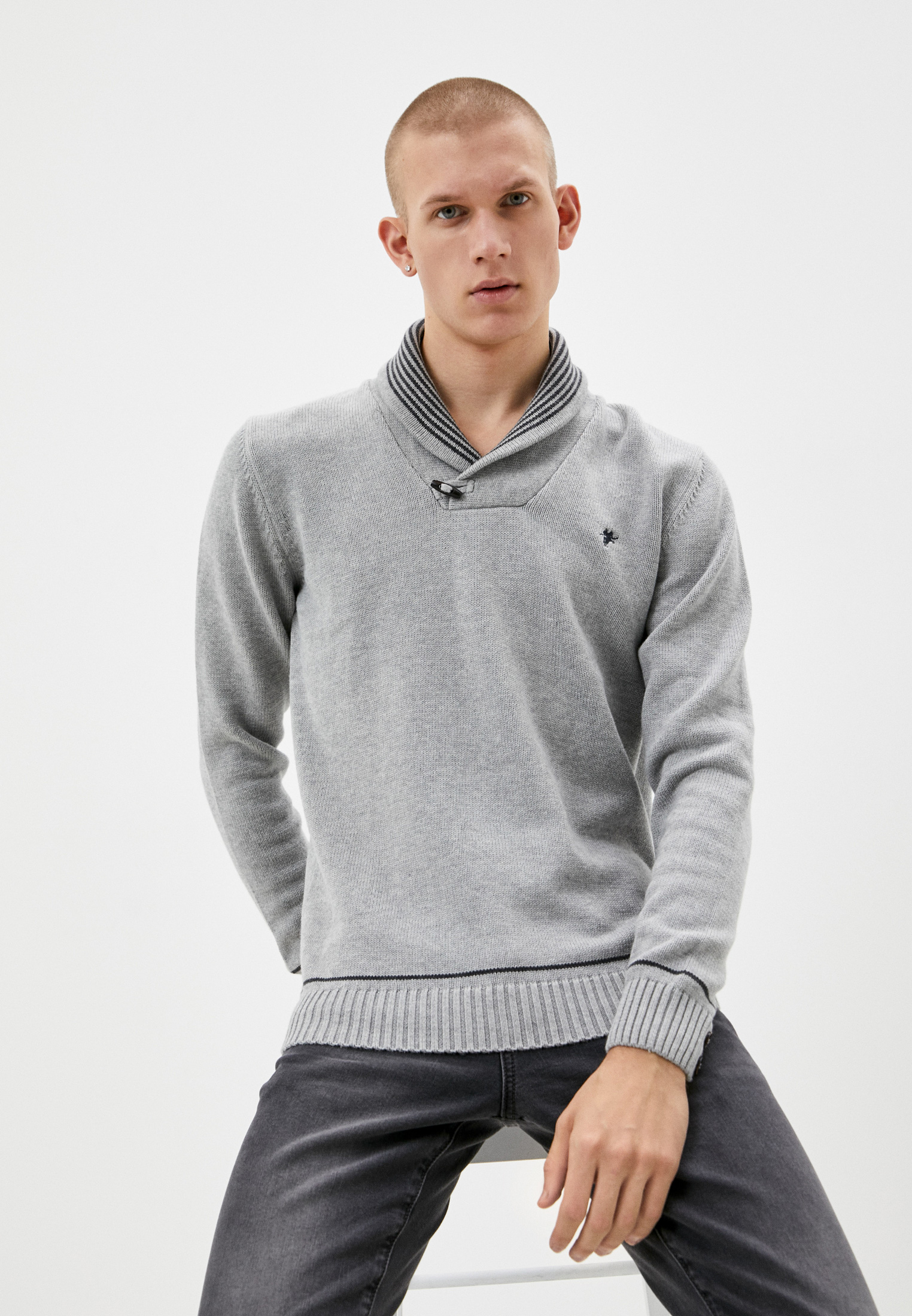 Пуловер Denim Culture B41523013G