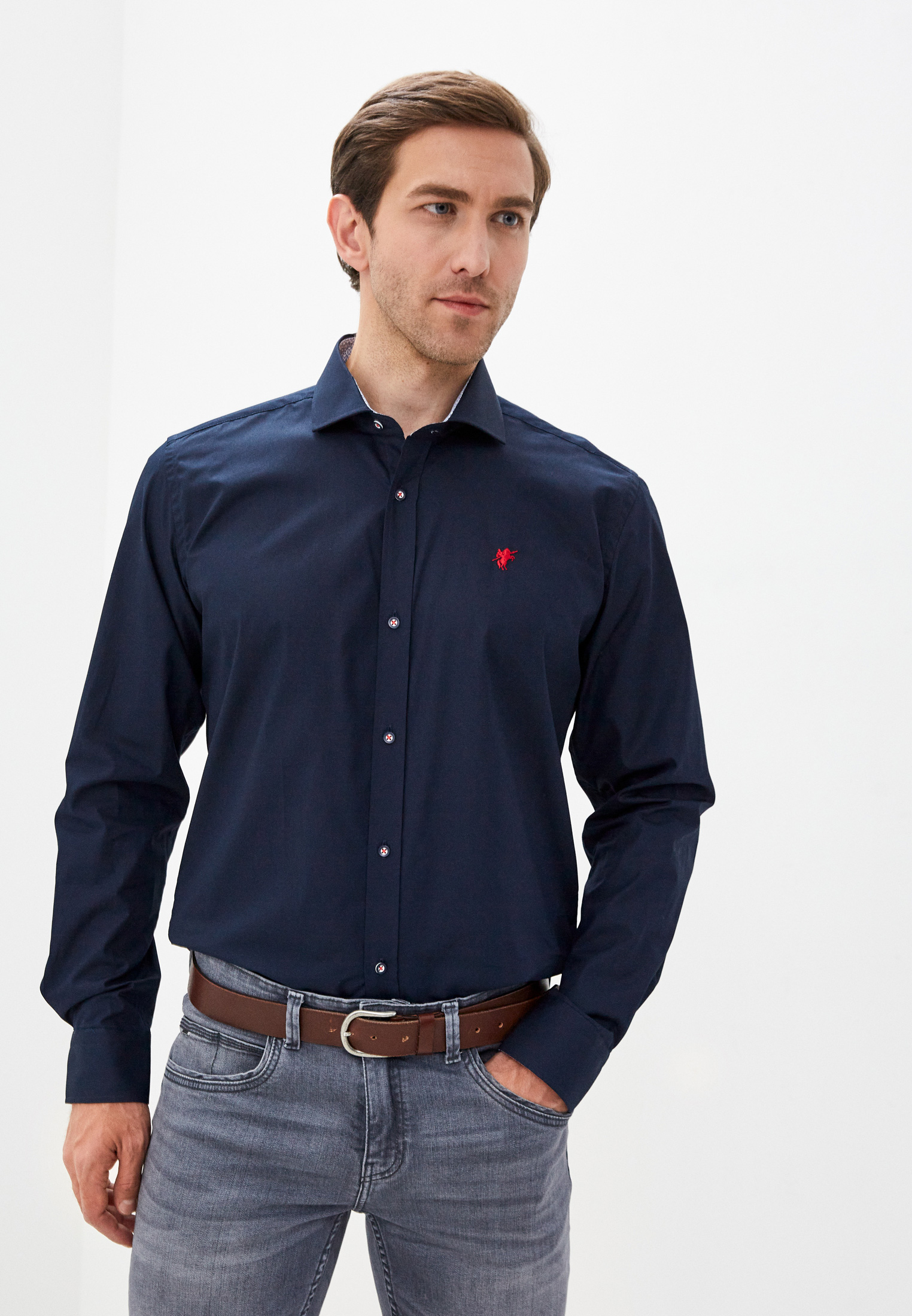 Рубашка с длинным рукавом Denim Culture B7756002N
