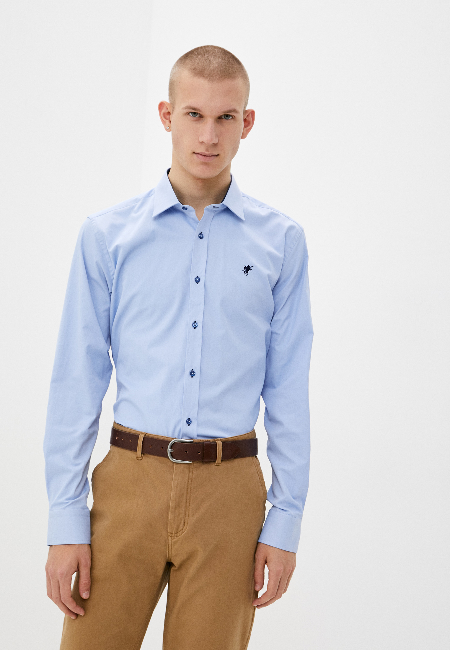 Рубашка с длинным рукавом Denim Culture B7902003B