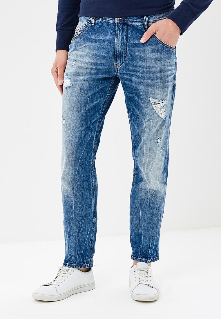 Мужские прямые джинсы Diesel (Дизель) 00S5A4.R831I