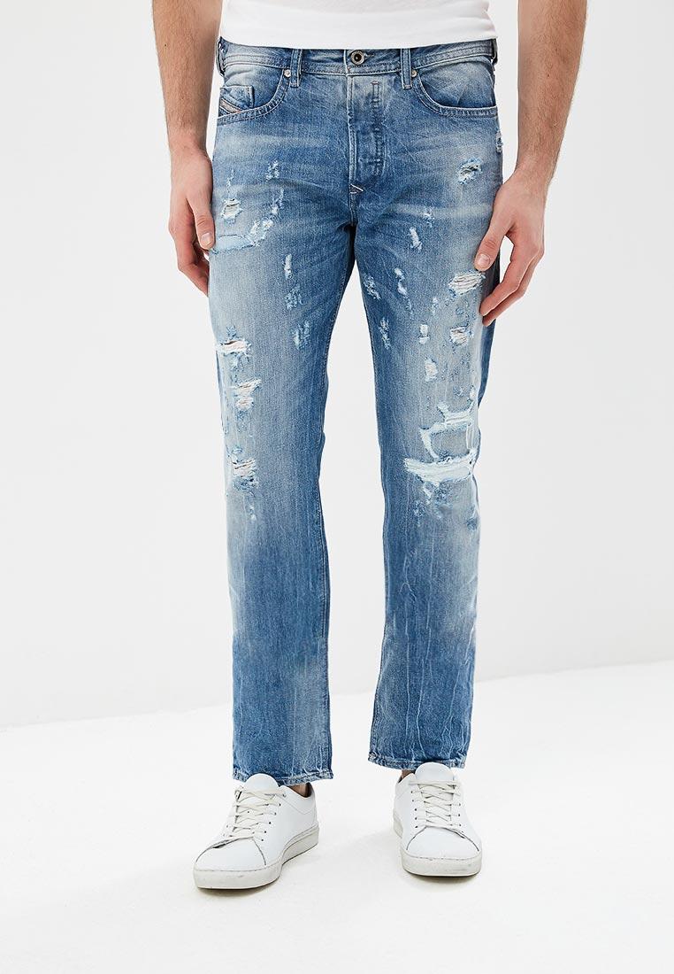 Мужские прямые джинсы Diesel (Дизель) 00SDHC.084CM