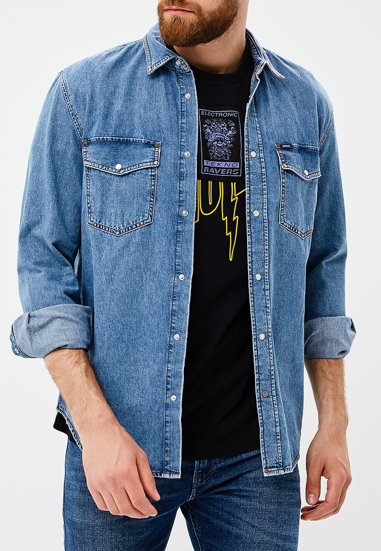 Рубашка с длинным рукавом Diesel (Дизель) 00S1TE0BARS