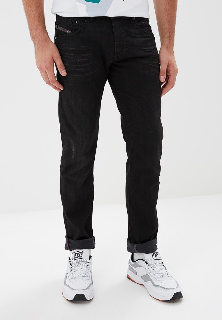Мужские прямые джинсы Diesel (Дизель) 00S4IN.0679F