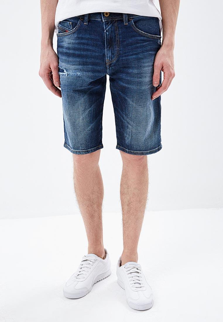 Мужские джинсовые шорты Diesel (Дизель) 00SD3U
