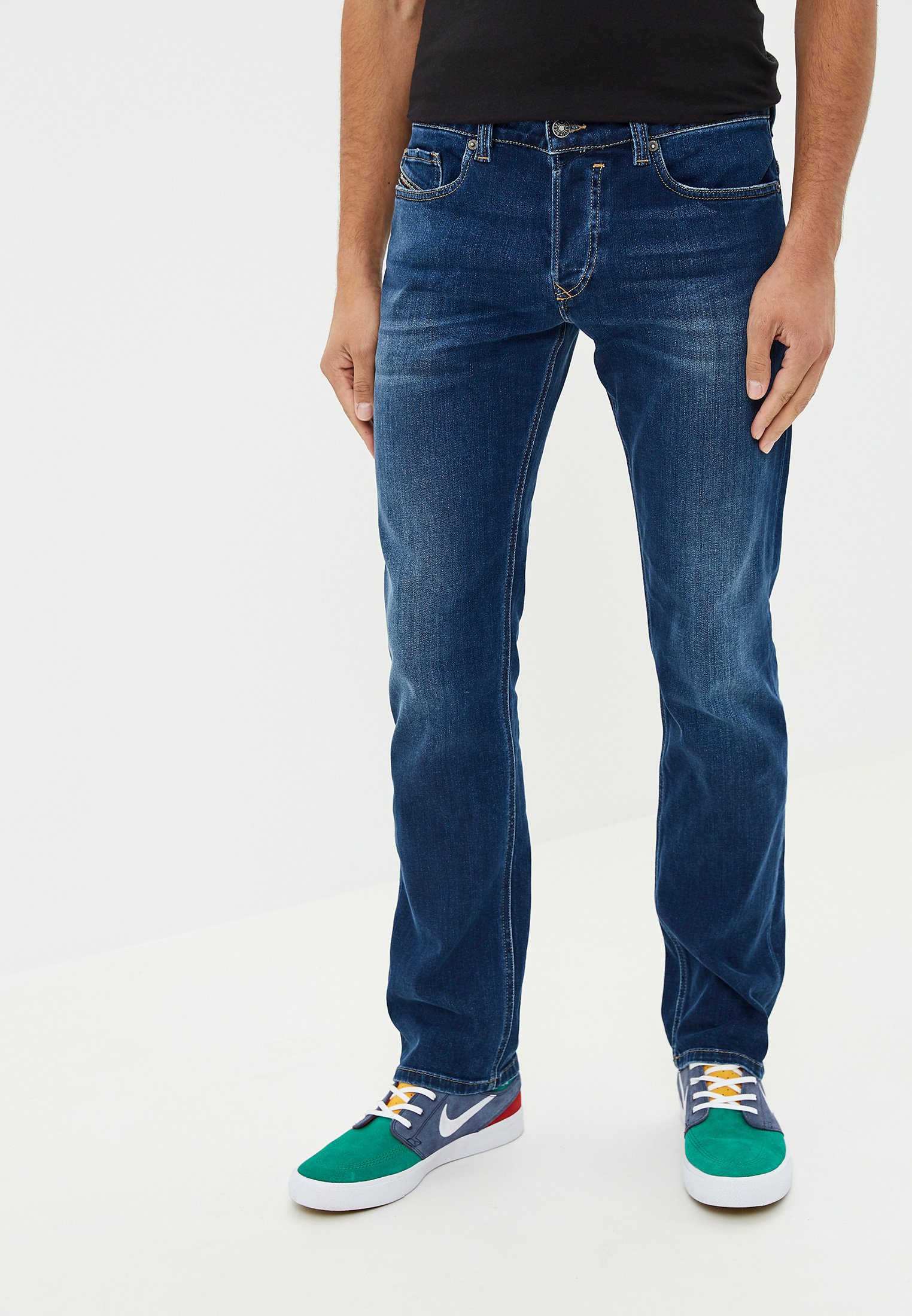 Зауженные джинсы Diesel (Дизель) 00S0PS