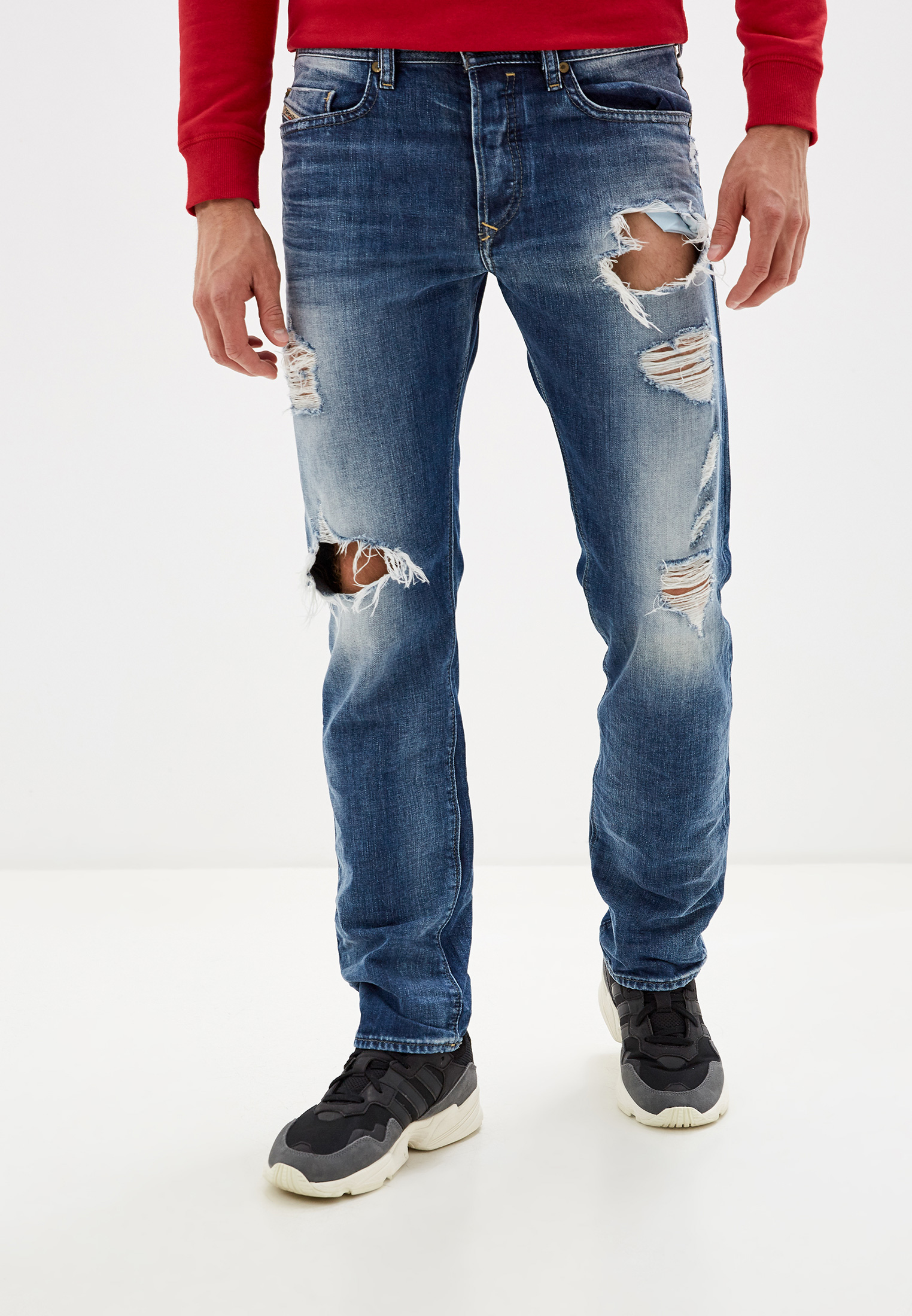 Мужские прямые джинсы Diesel (Дизель) 00SDHB0848I