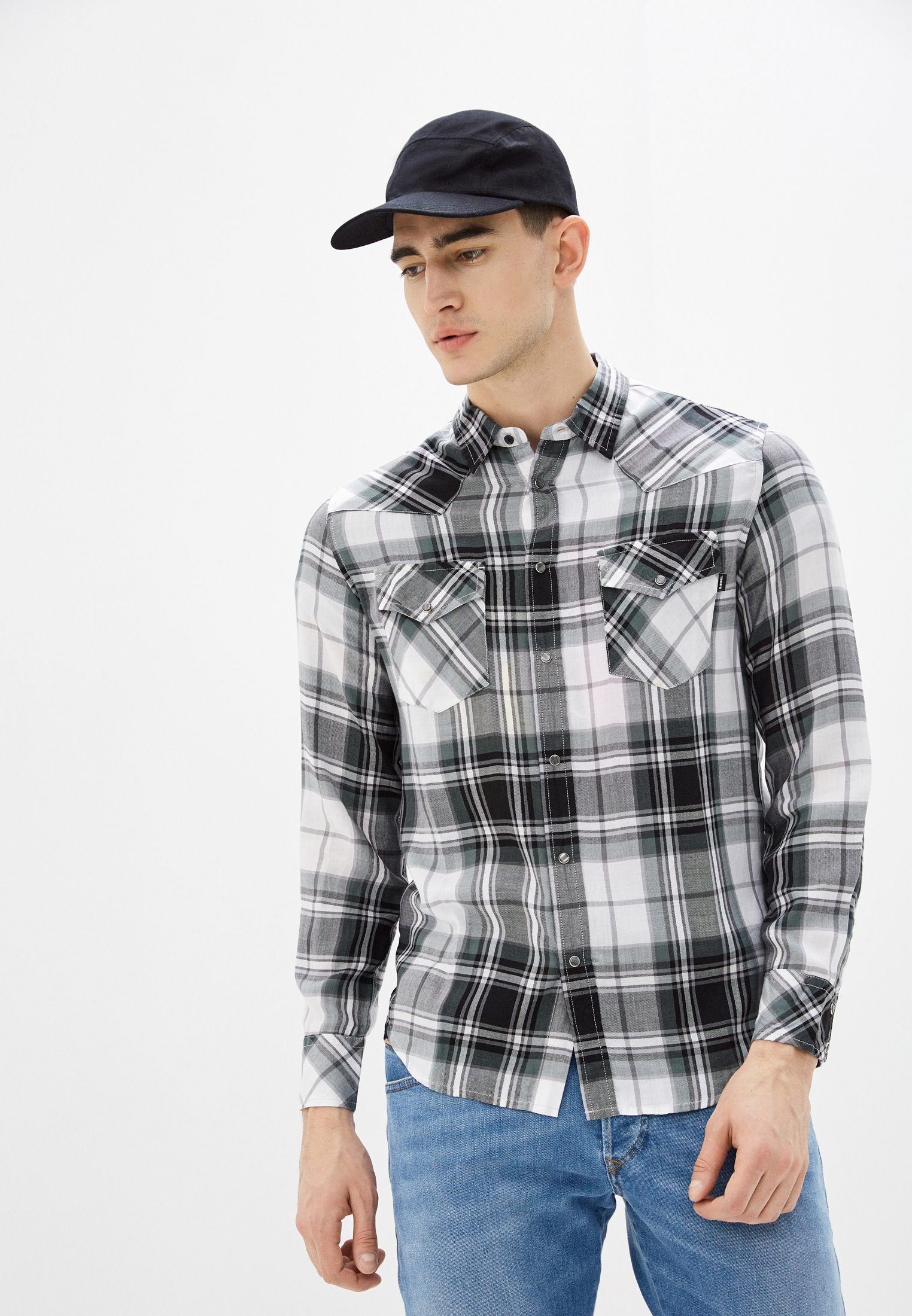 Рубашка с длинным рукавом Diesel (Дизель) 00SQVE