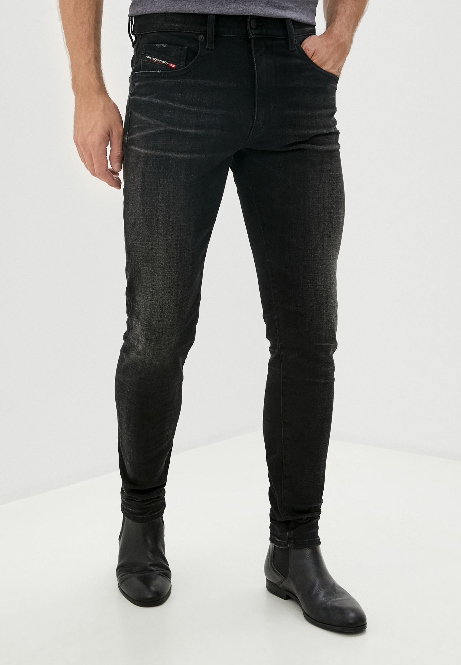 Мужские зауженные джинсы Diesel (Дизель) 00SPW50098B