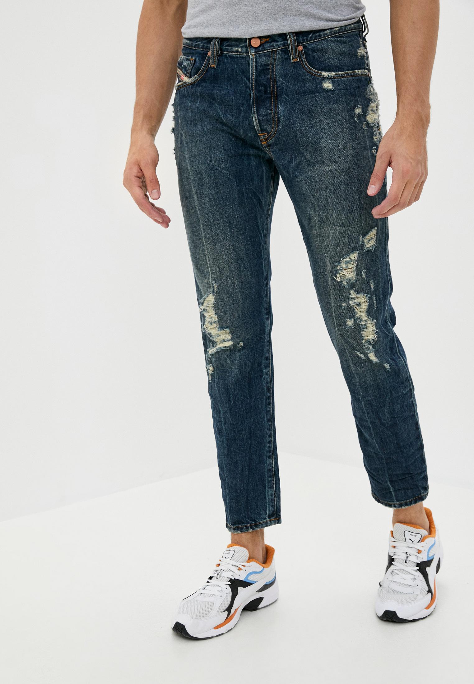 Мужские зауженные джинсы Diesel (Дизель) 00SH3Q084ZM