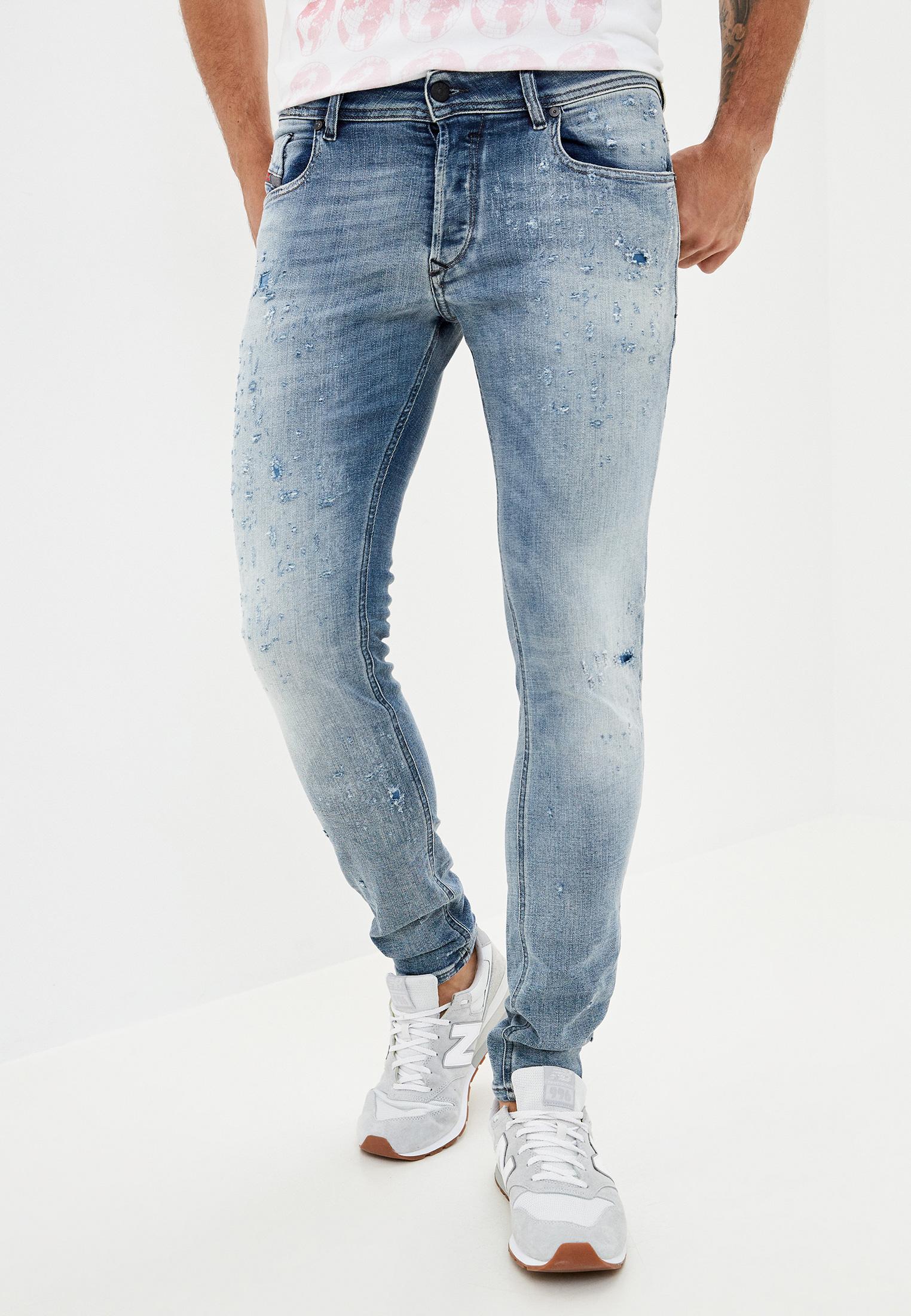 Мужские зауженные джинсы Diesel (Дизель) 00S7VF084GM