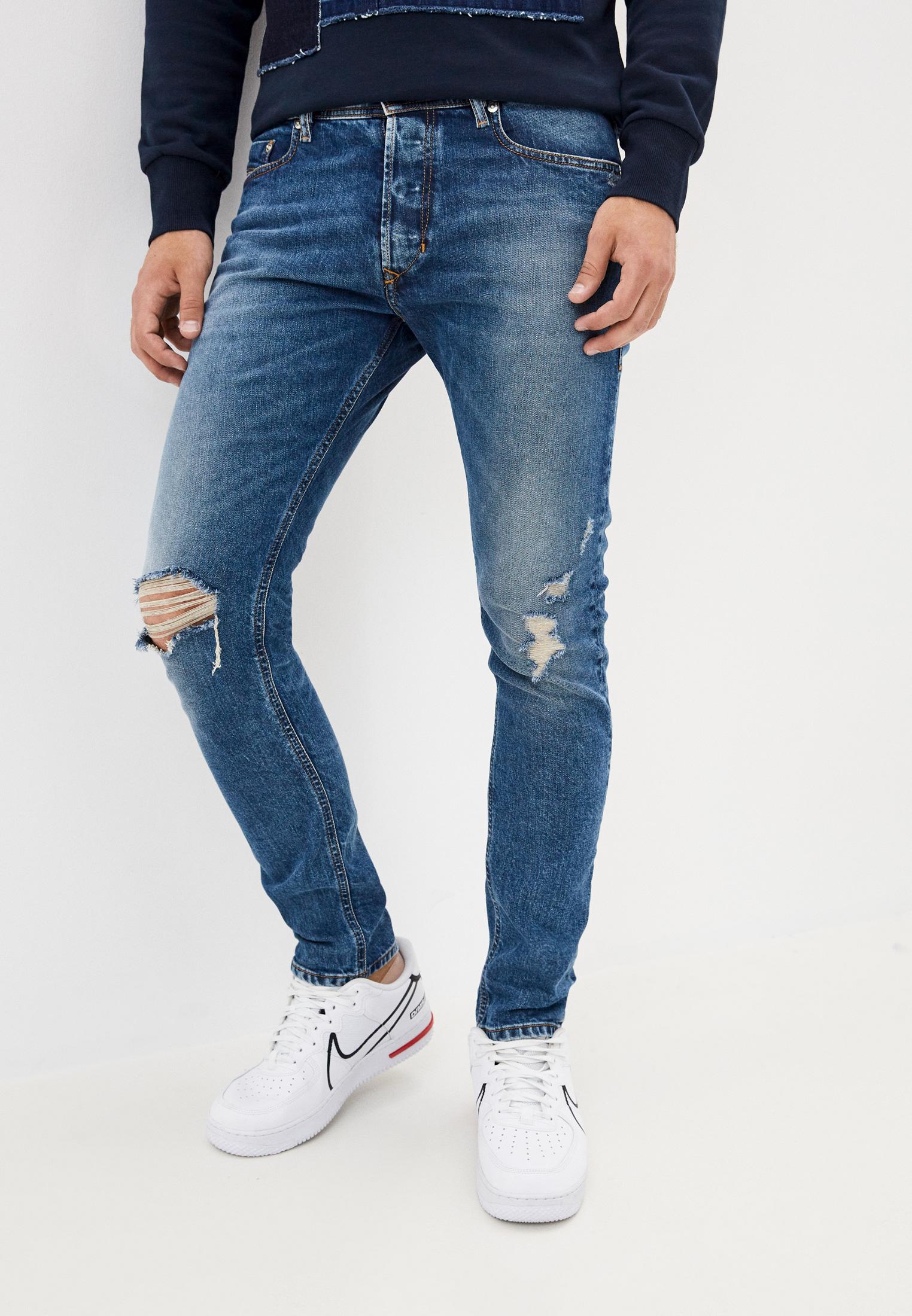 Мужские зауженные джинсы Diesel (Дизель) 00CKRH084XT