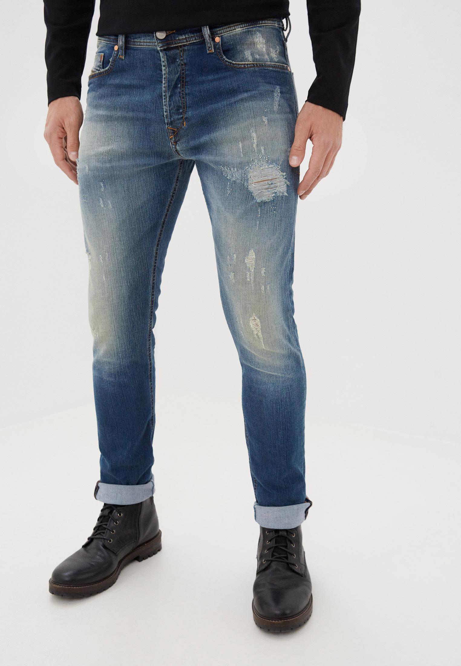 Мужские зауженные джинсы Diesel (Дизель) 00CKRI084UW