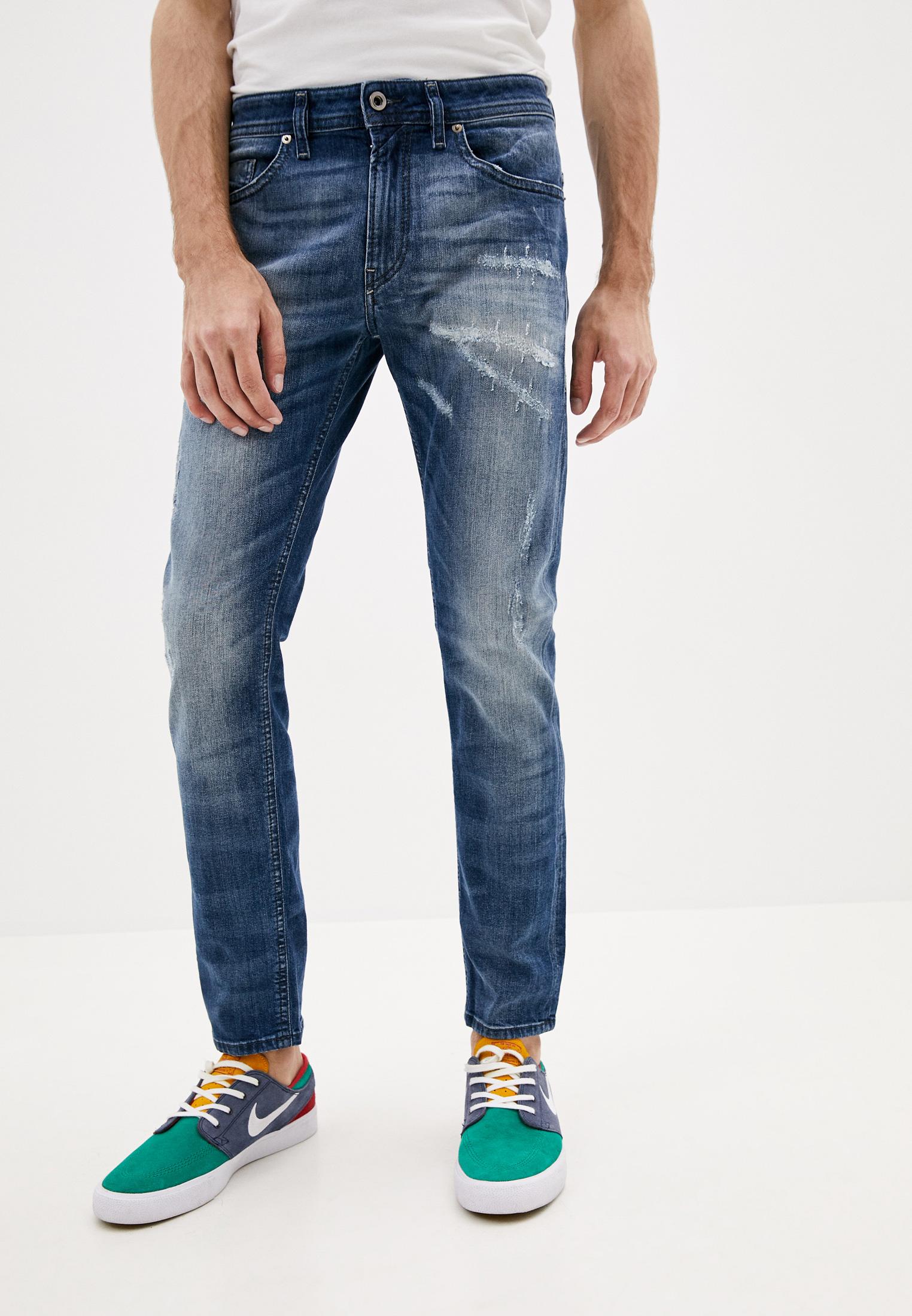 Мужские зауженные джинсы Diesel (Дизель) 00SW1P084QW