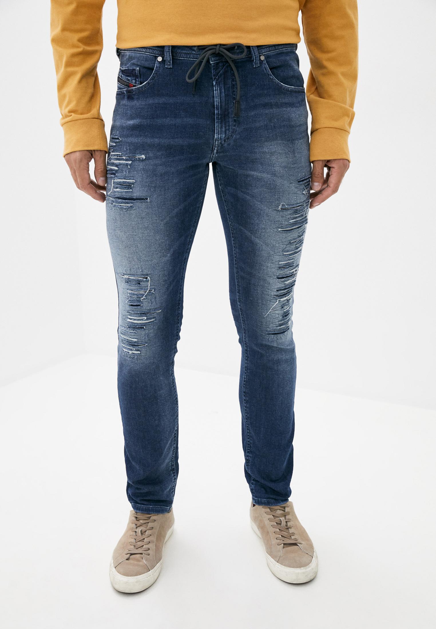 Мужские зауженные джинсы Diesel (Дизель) 00S8MK084PE