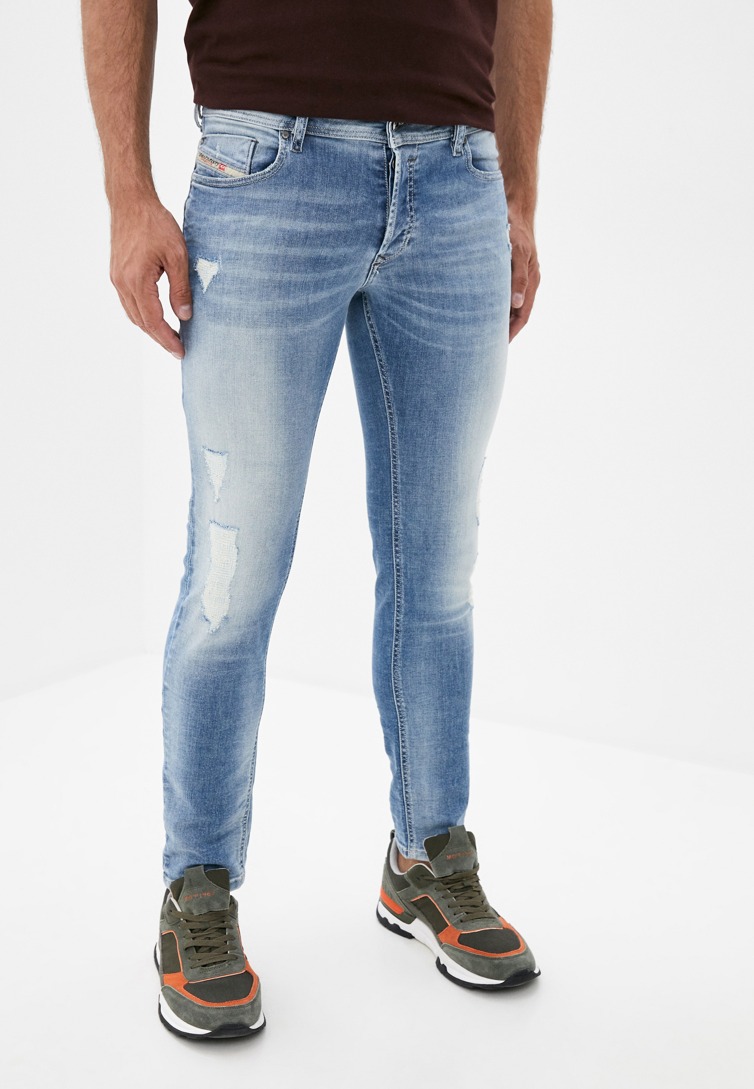 Зауженные джинсы Diesel (Дизель) 00SYICR0I27