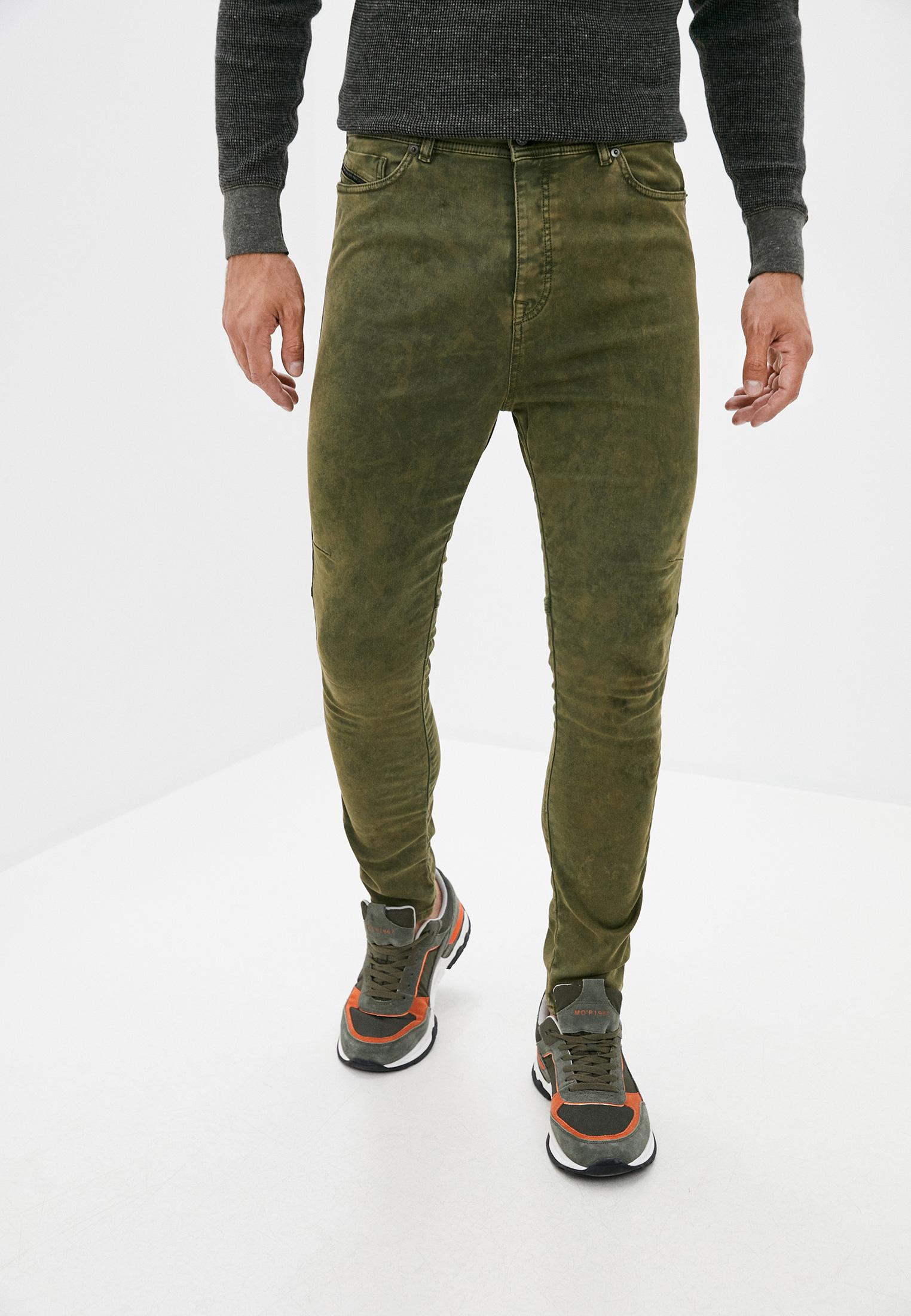 Мужские зауженные брюки Diesel (Дизель) 00S3MABG6GI