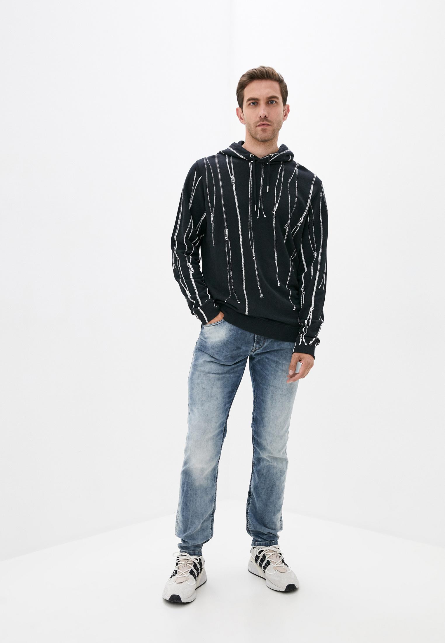 Мужские зауженные джинсы Diesel (Дизель) 00SQK80672A: изображение 2