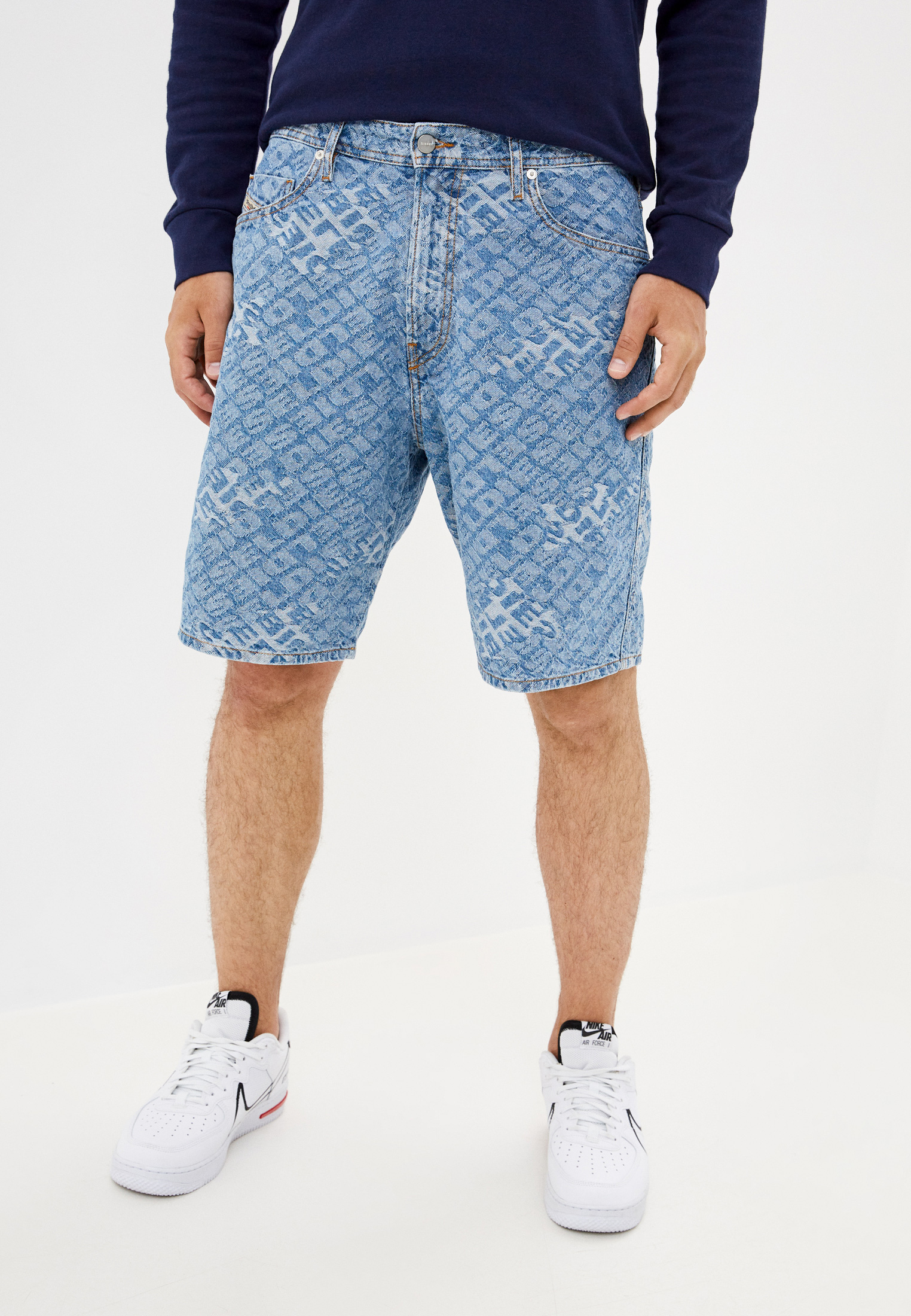 Мужские джинсовые шорты Diesel (Дизель) 00SEDH084WW