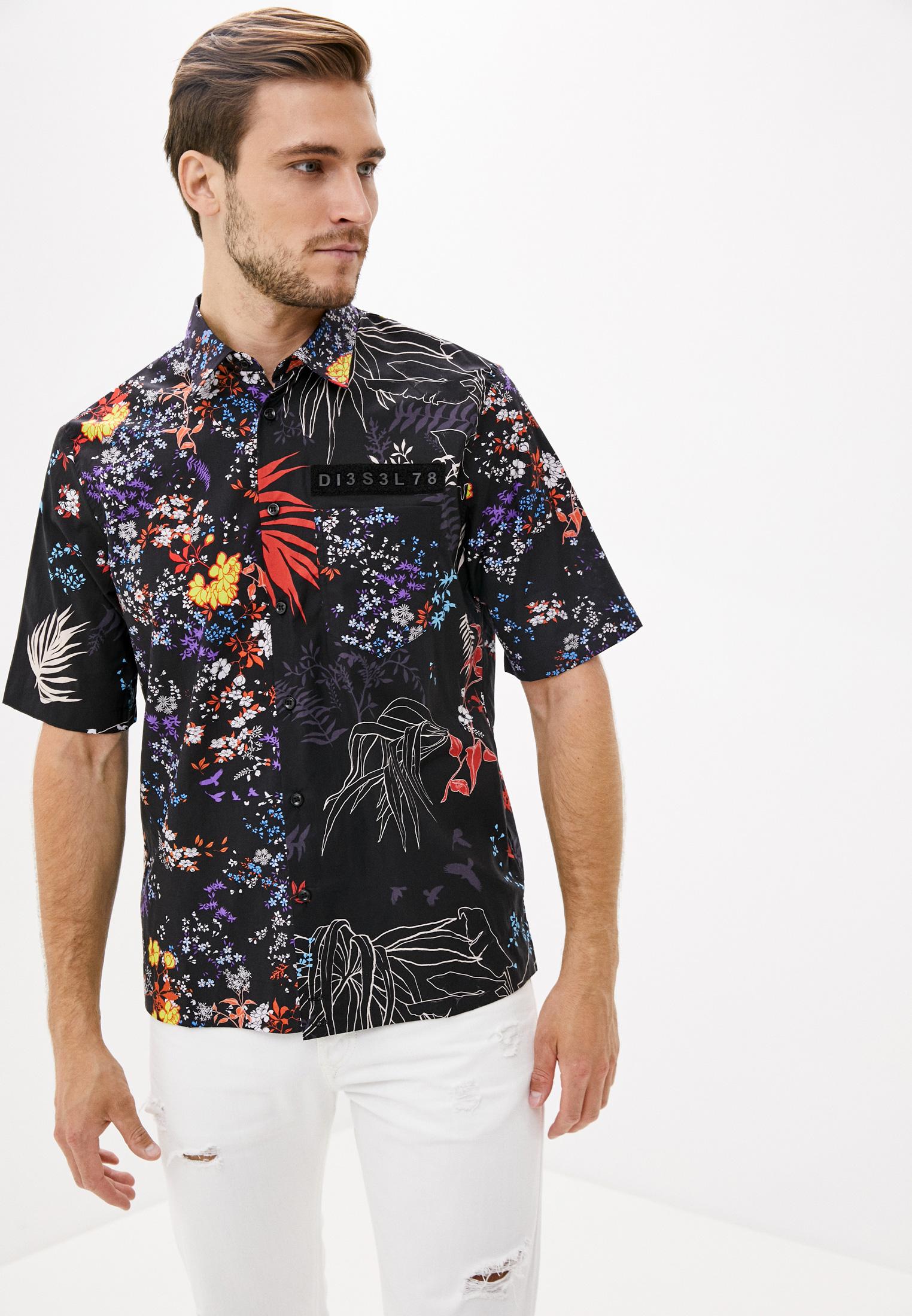 Рубашка с коротким рукавом Diesel (Дизель) 00SQU40GAUG