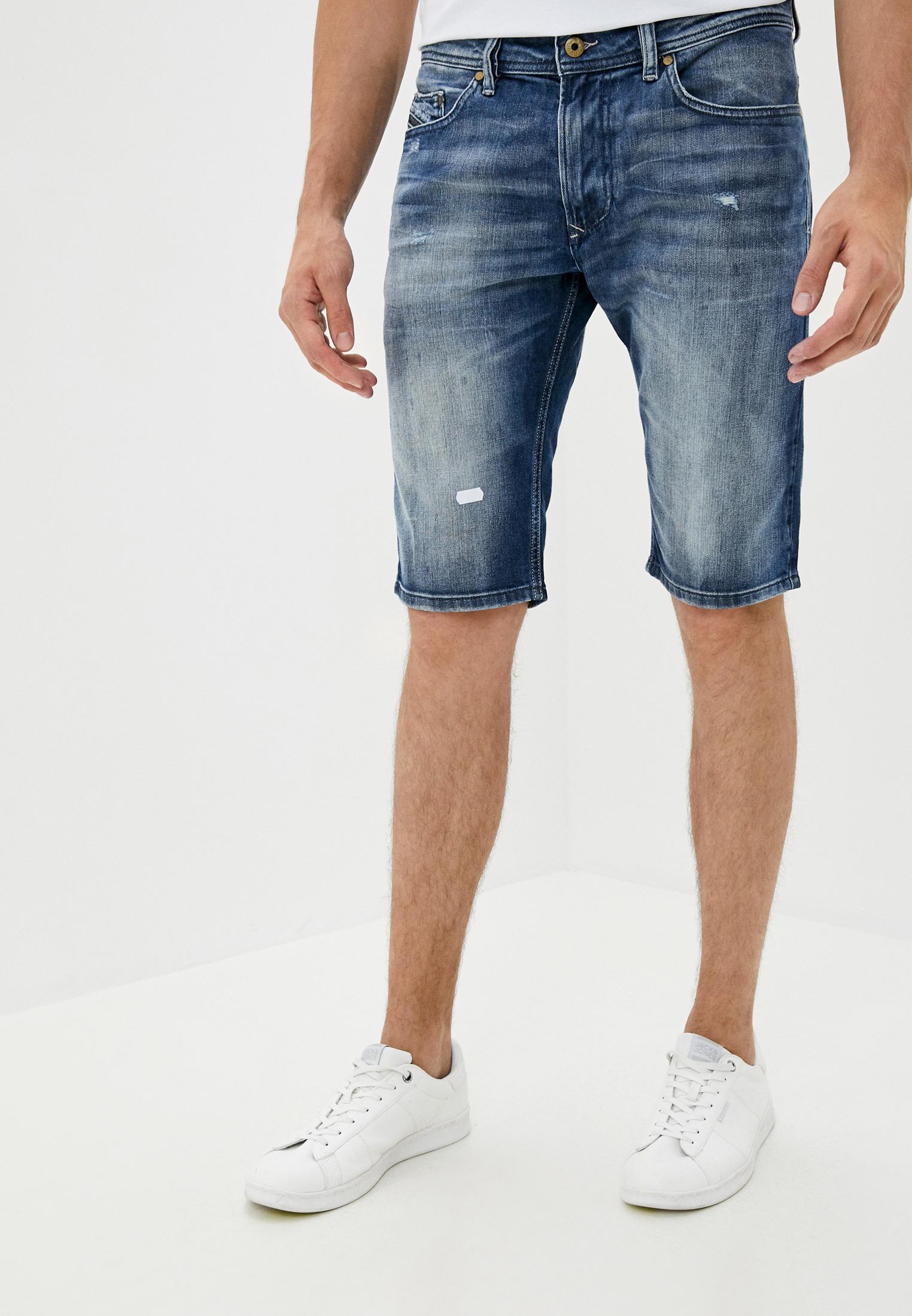 Мужские джинсовые шорты Diesel (Дизель) 00CSBN084DD