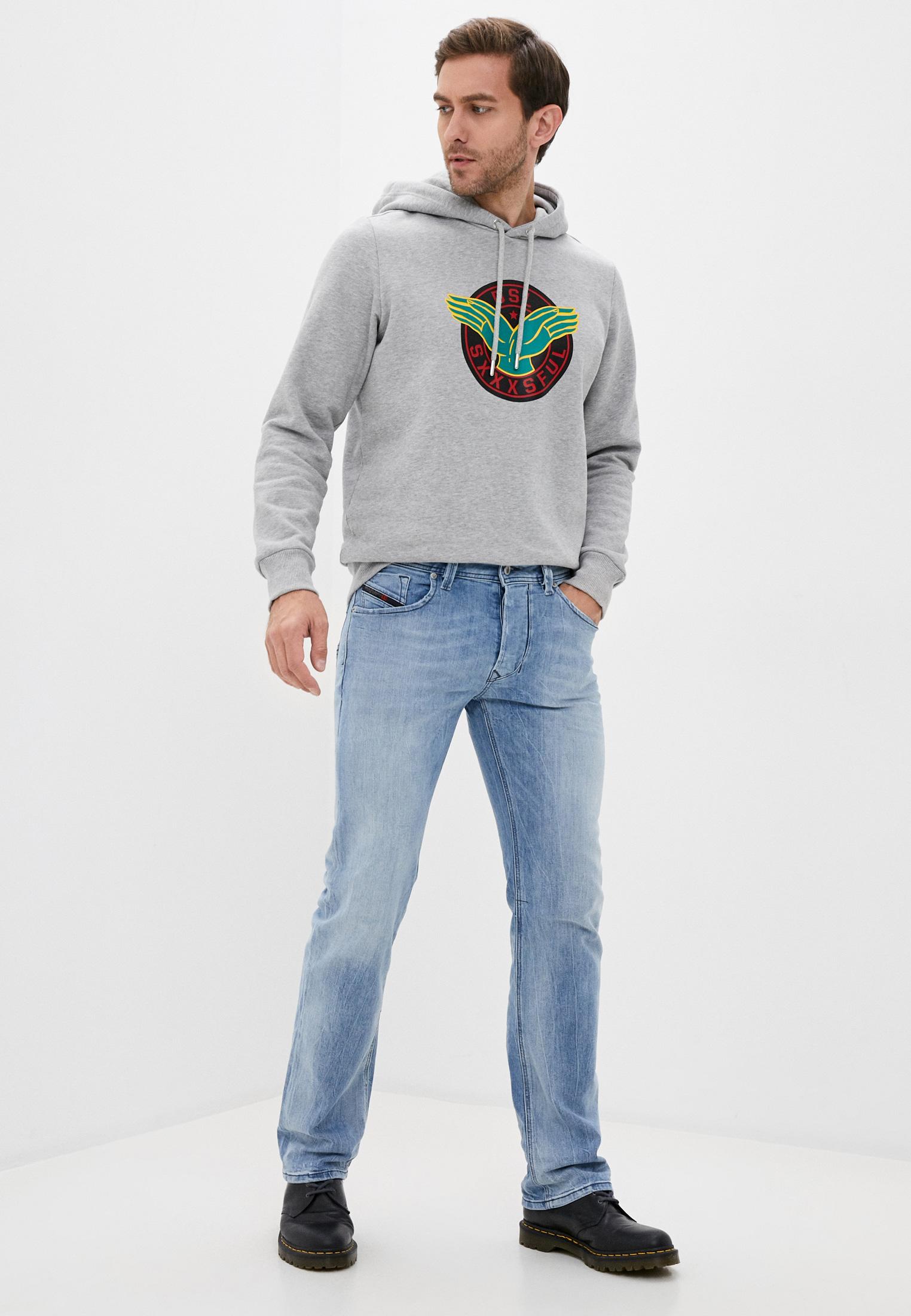 Мужские прямые джинсы Diesel (Дизель) 00C06Q081AL: изображение 2