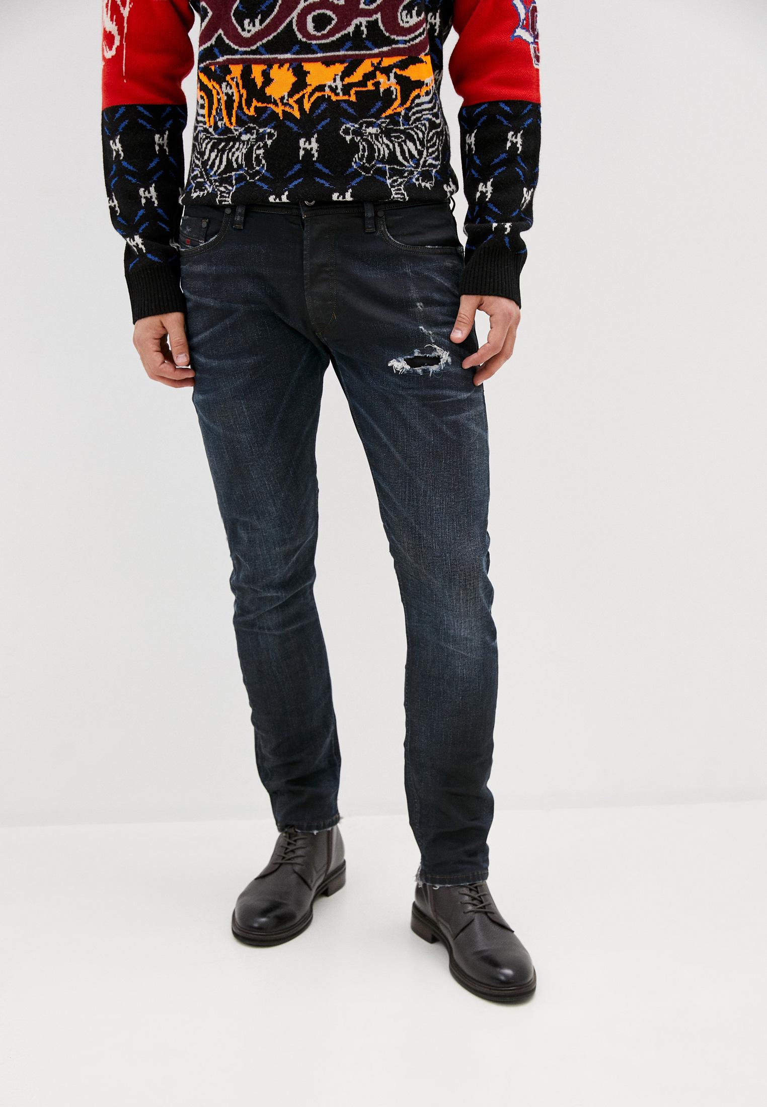 Мужские прямые джинсы Diesel (Дизель) 00CKRH080AD: изображение 1
