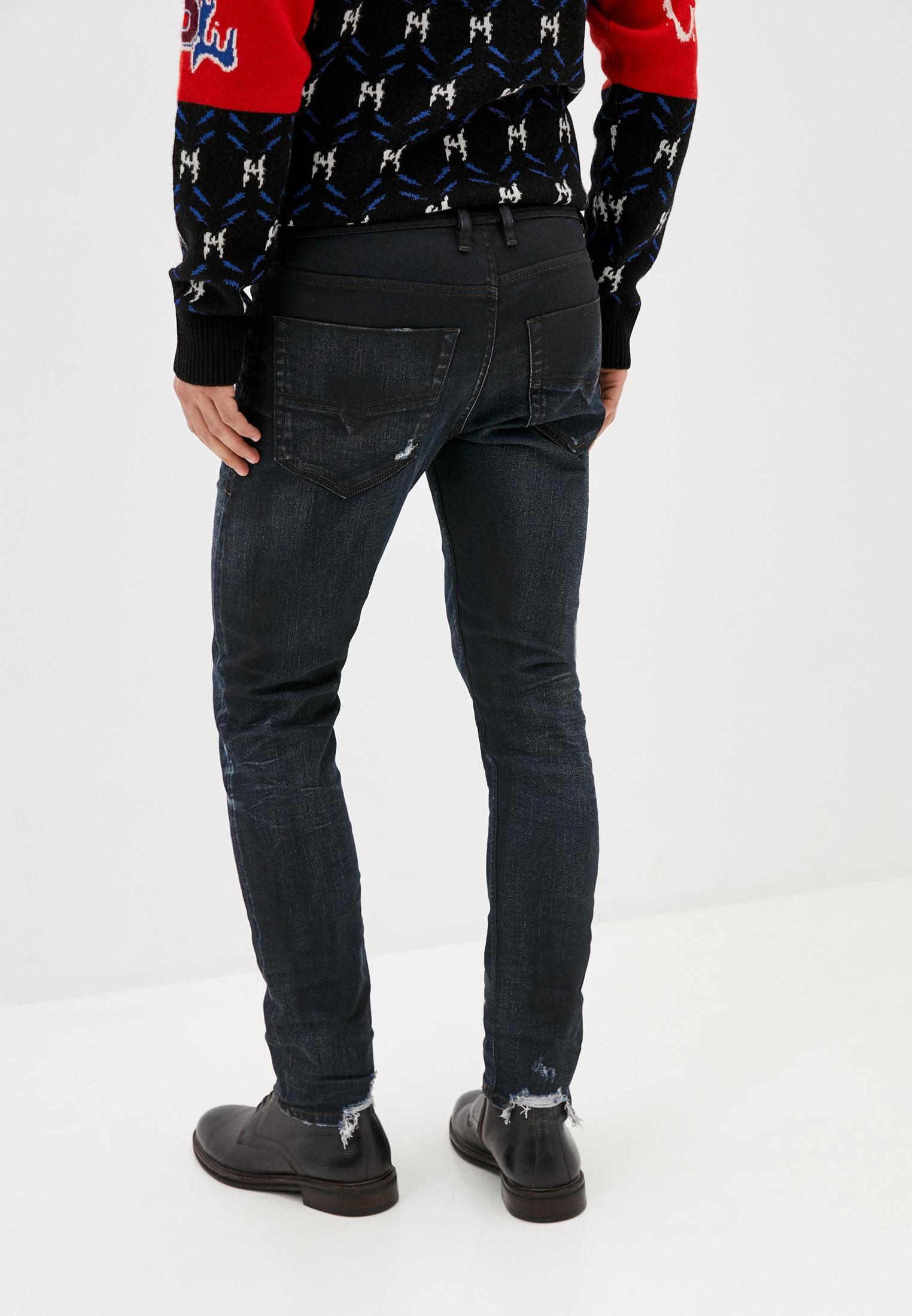 Мужские прямые джинсы Diesel (Дизель) 00CKRH080AD: изображение 3
