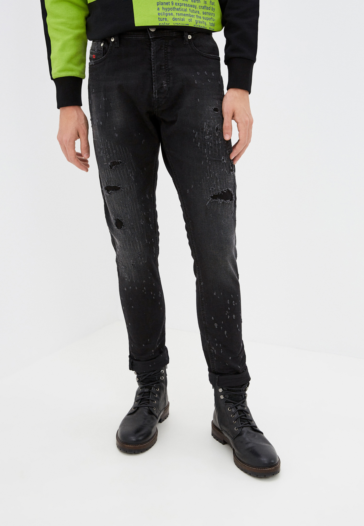 Зауженные джинсы Diesel (Дизель) 00CKRH069FA