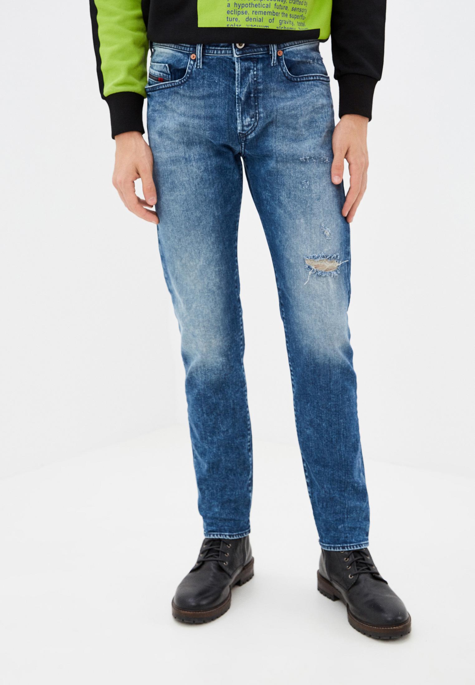 Мужские зауженные джинсы Diesel (Дизель) 00SDHB081AQ