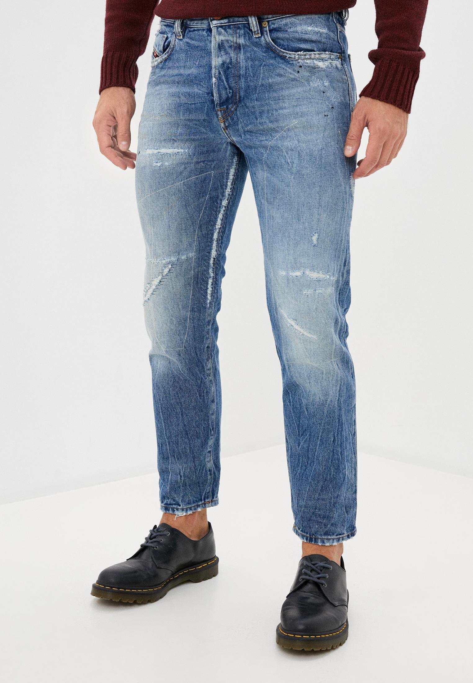 Мужские зауженные джинсы Diesel (Дизель) 00SH3Q0078B