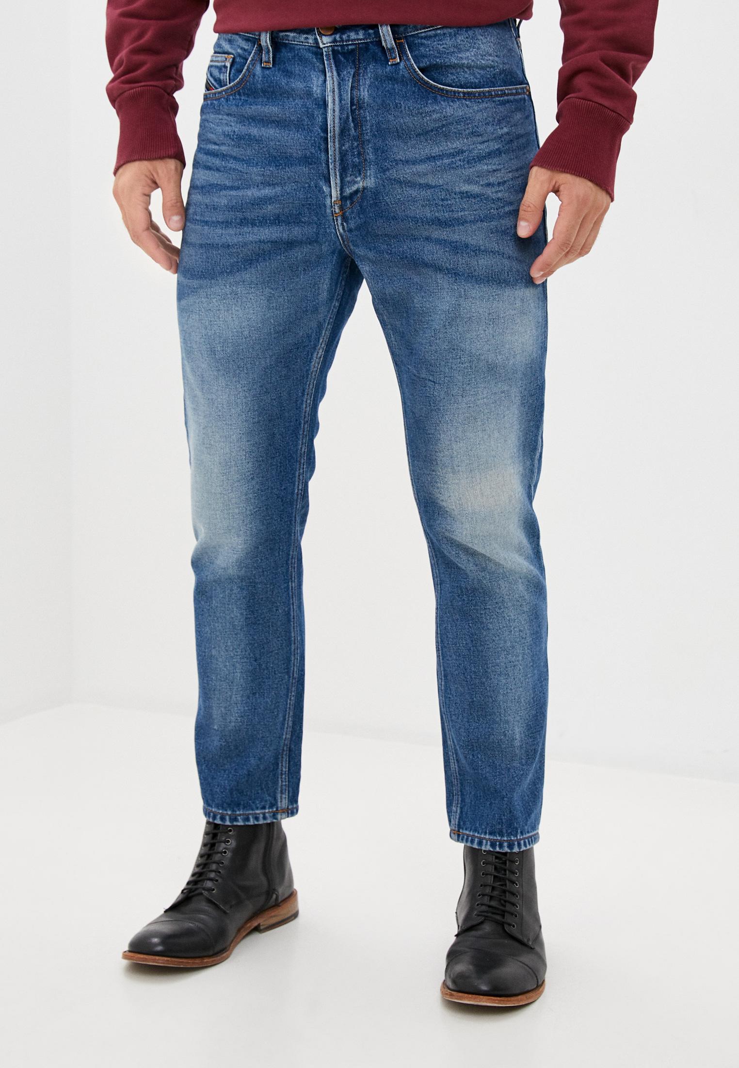 Мужские зауженные джинсы Diesel (Дизель) 00SMXC0076Y