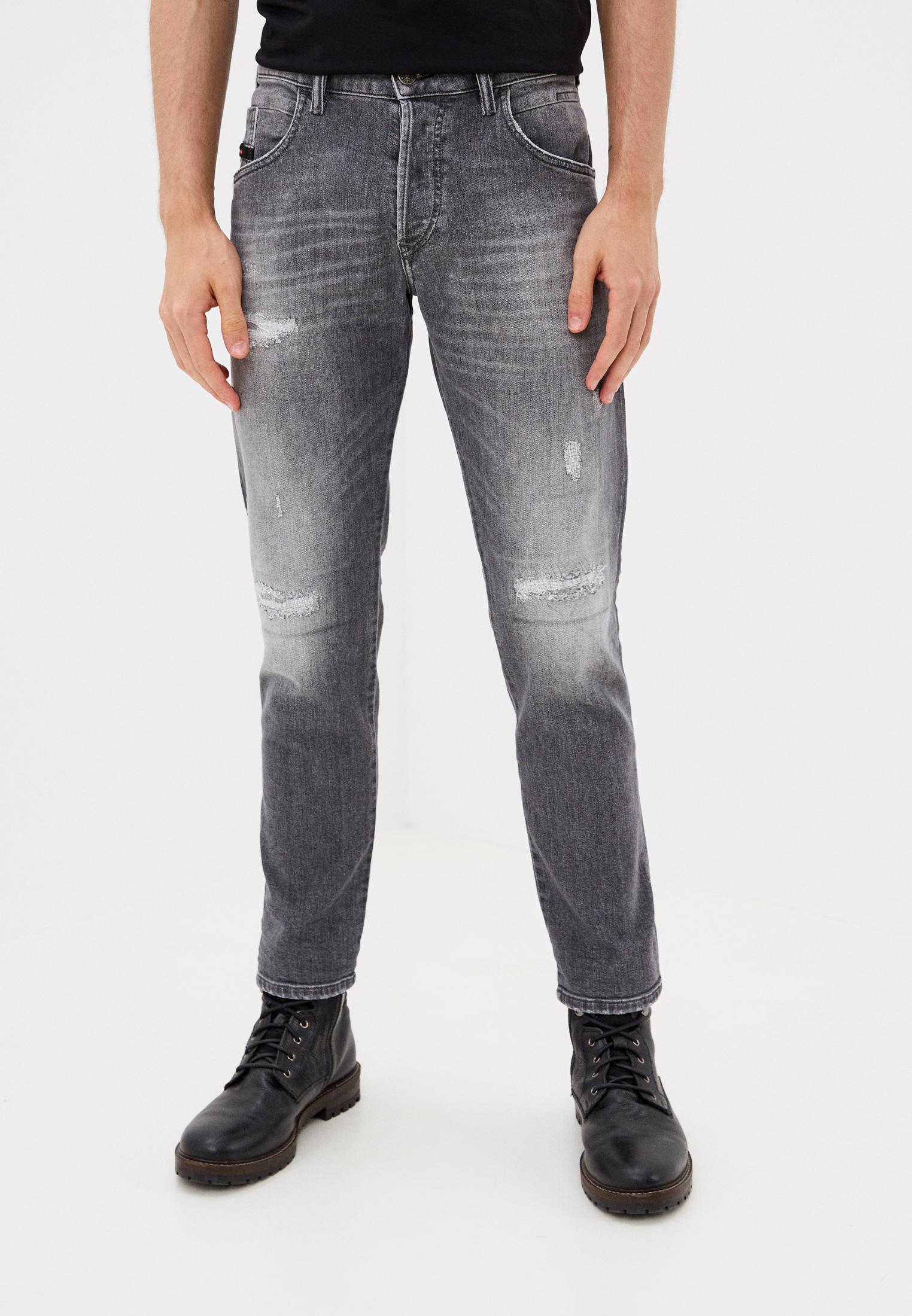 Мужские зауженные джинсы Diesel (Дизель) 00SSLK0890F