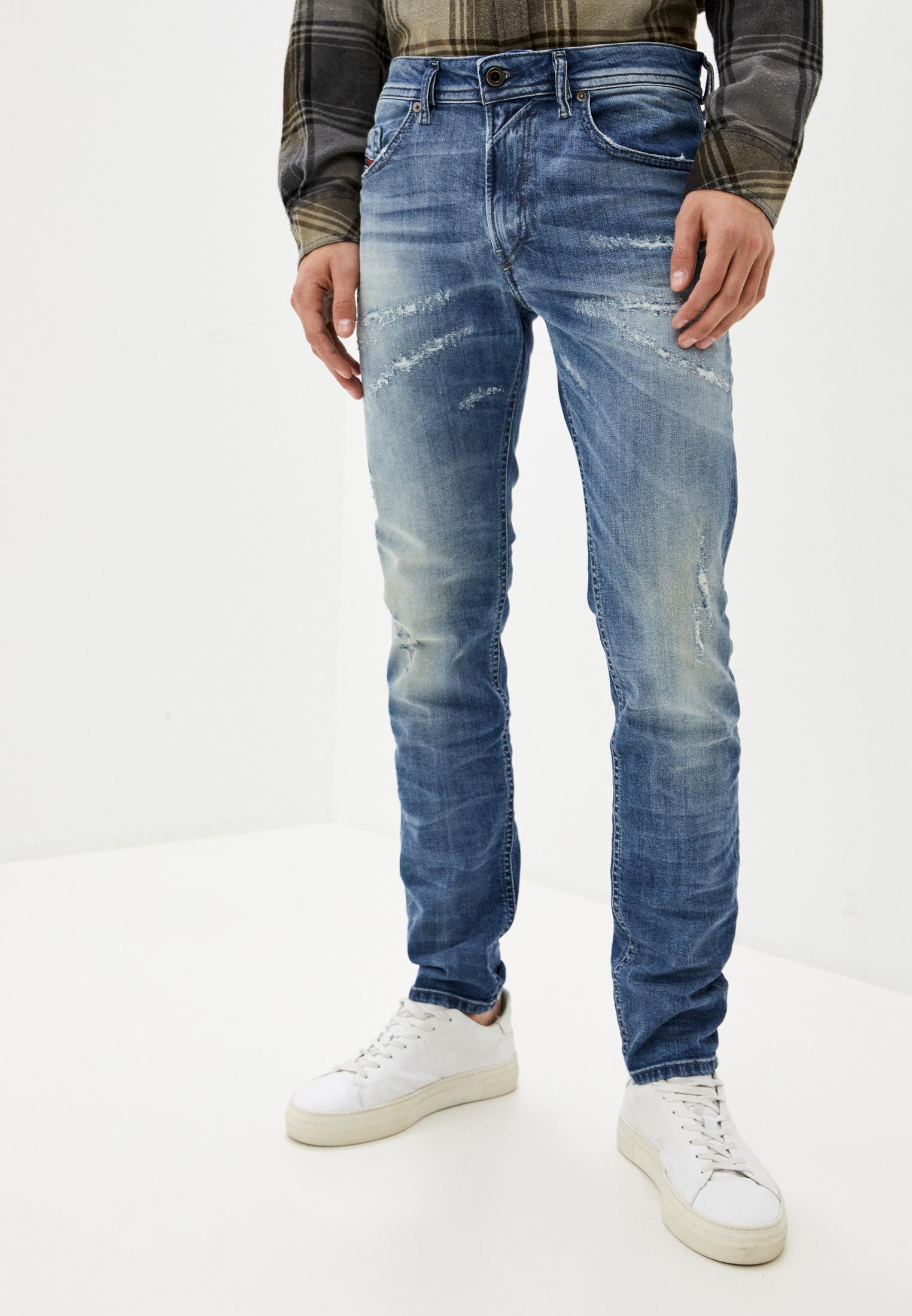 Мужские зауженные джинсы Diesel (Дизель) 00SW1Q084QW