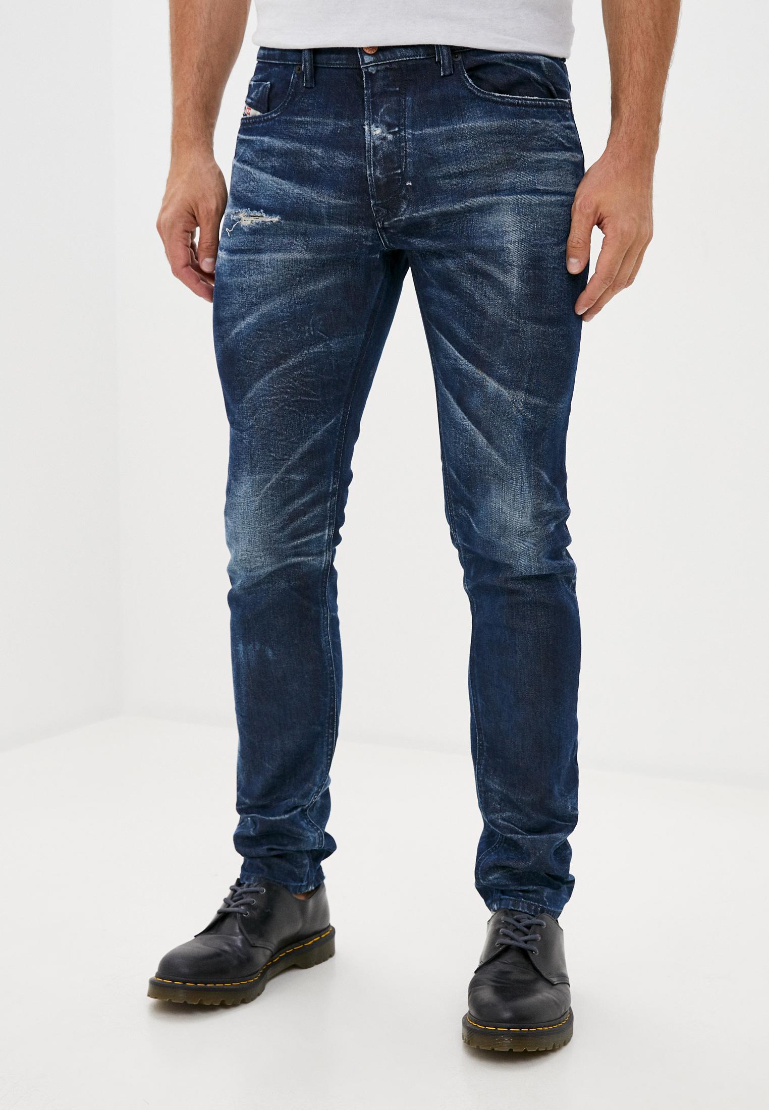 Мужские зауженные джинсы Diesel (Дизель) 00SWID084AM