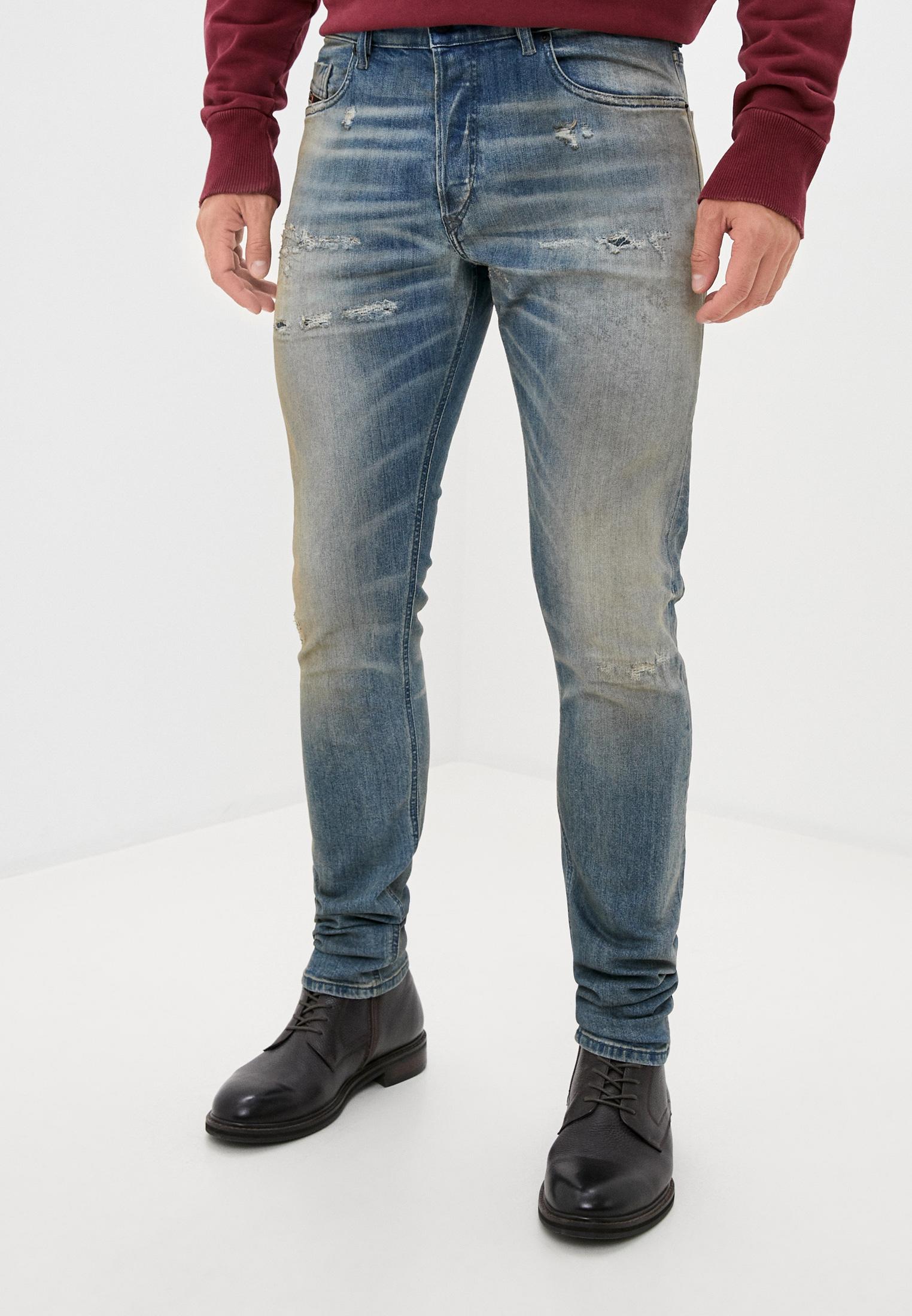 Мужские зауженные джинсы Diesel (Дизель) 00SWIE084AQ