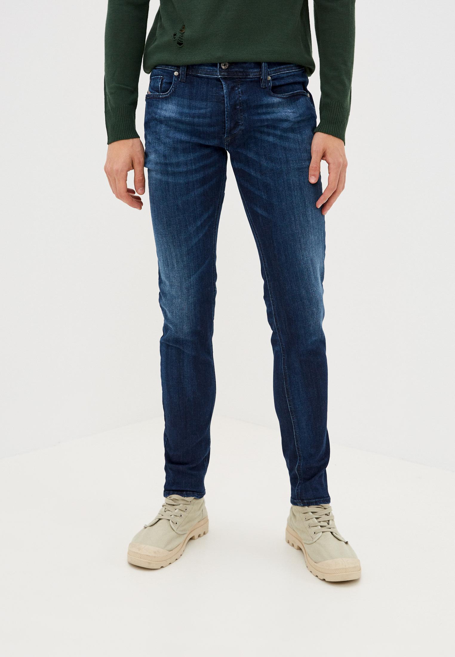 Мужские зауженные джинсы Diesel (Дизель) 00SYIDR79K6