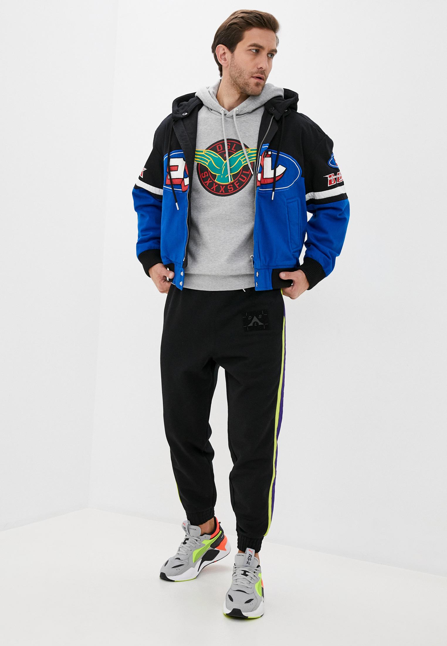 Мужские спортивные брюки Diesel (Дизель) 00SQDD0KASL: изображение 2
