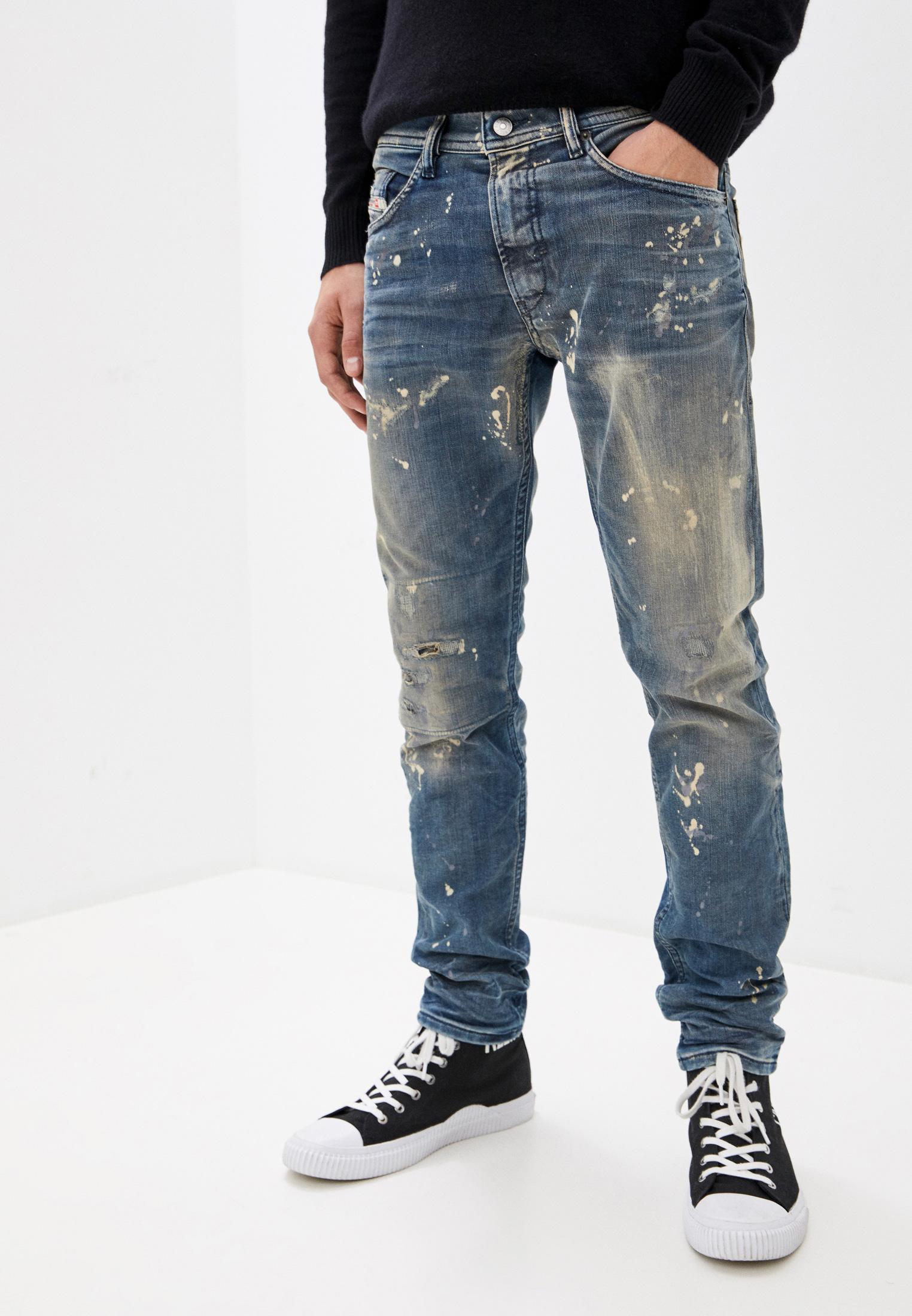 Мужские зауженные джинсы Diesel (Дизель) 00SE3D0870X