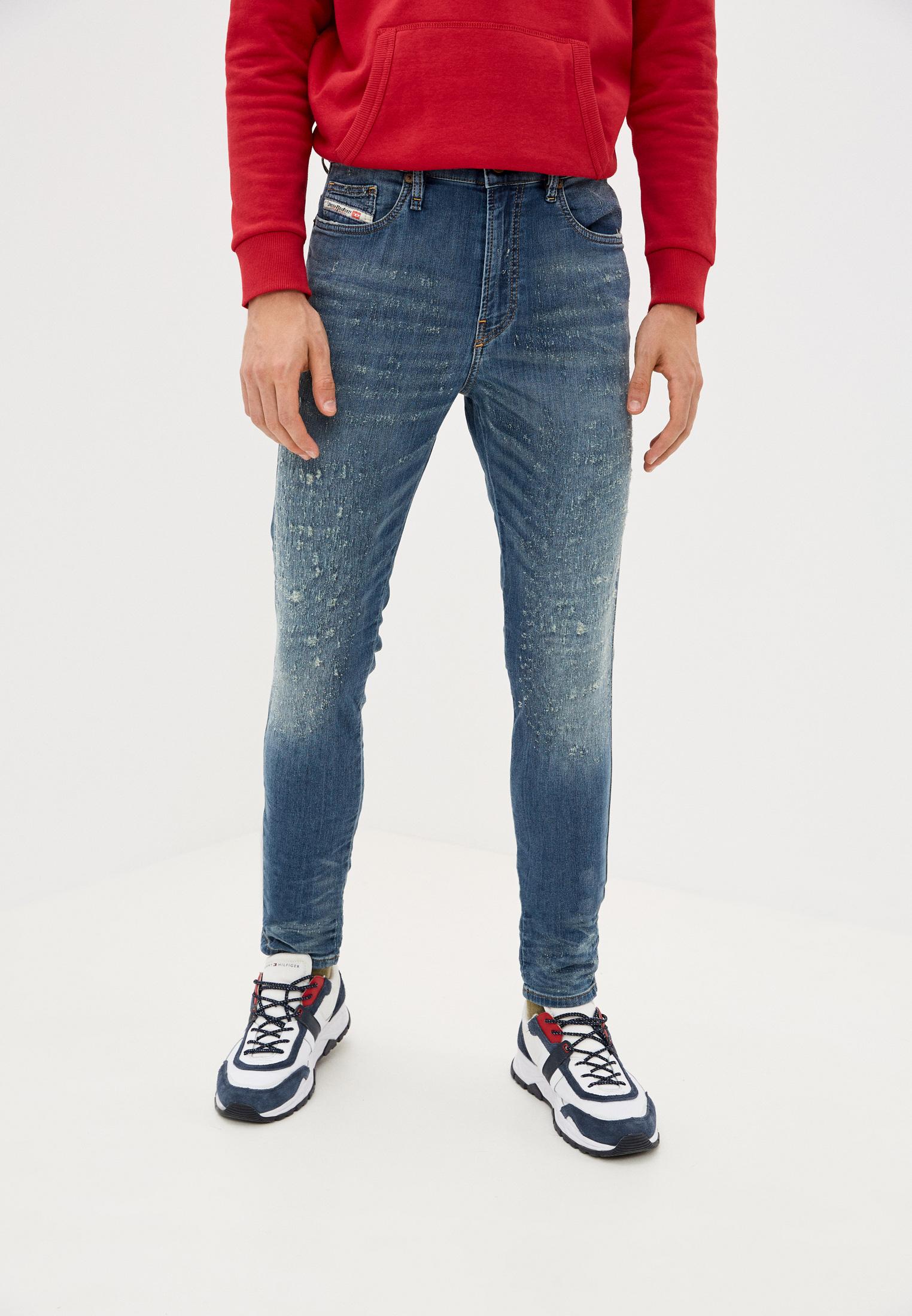 Мужские зауженные джинсы Diesel (Дизель) 00SY8V069HG