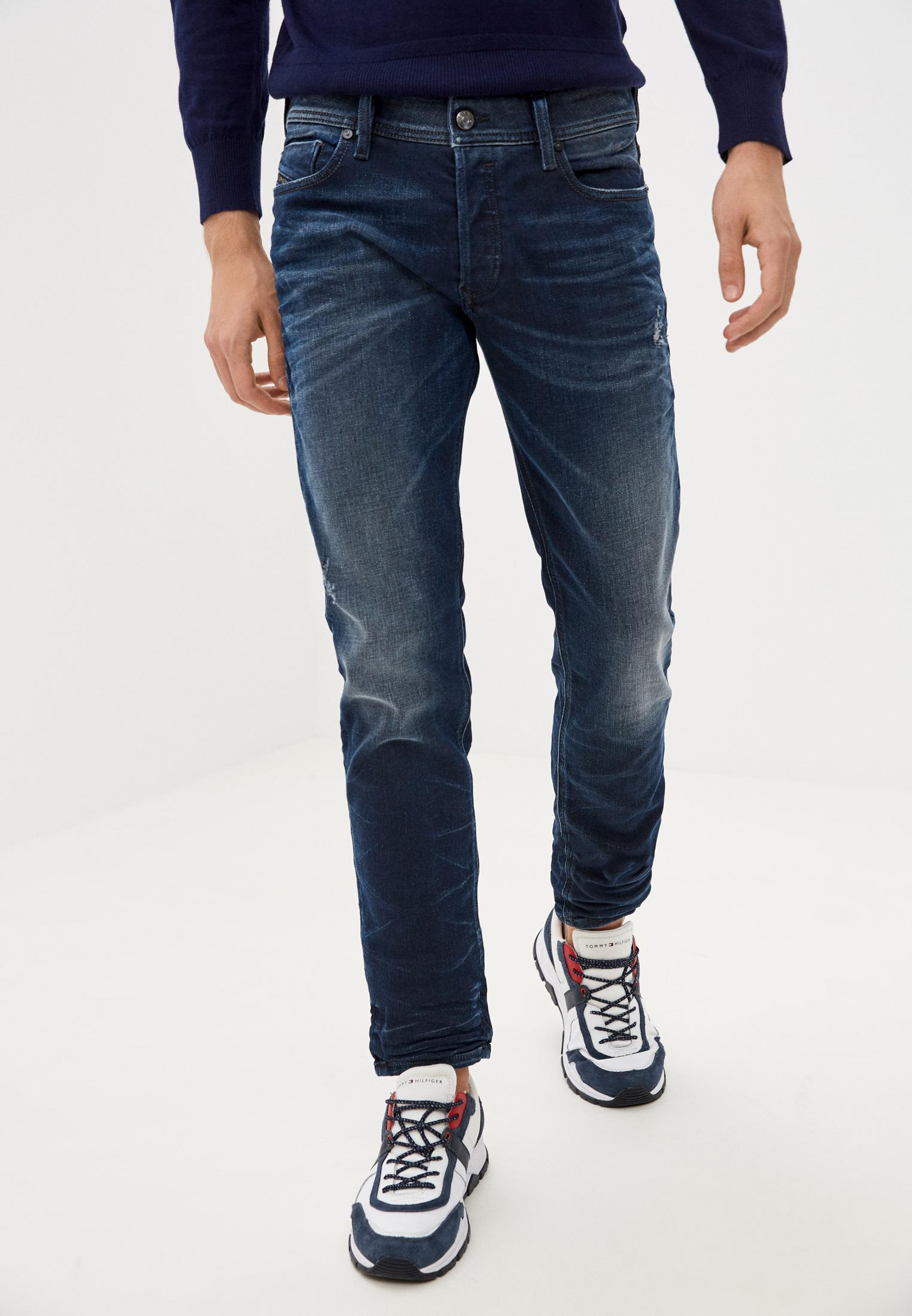 Мужские зауженные джинсы Diesel (Дизель) 00S7VG084JM