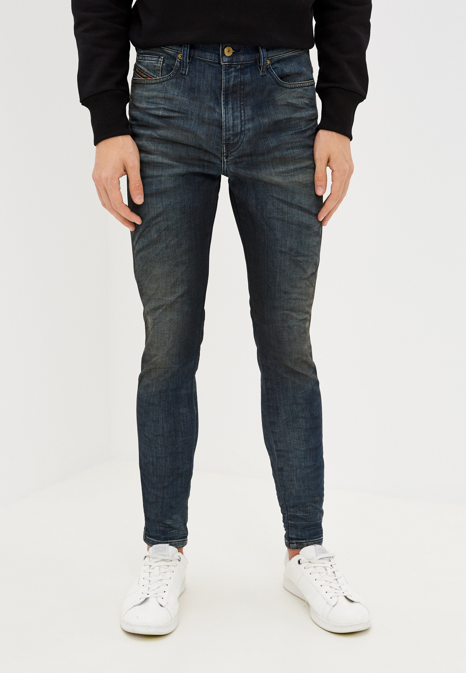 Мужские зауженные джинсы Diesel (Дизель) 00ST250870Y