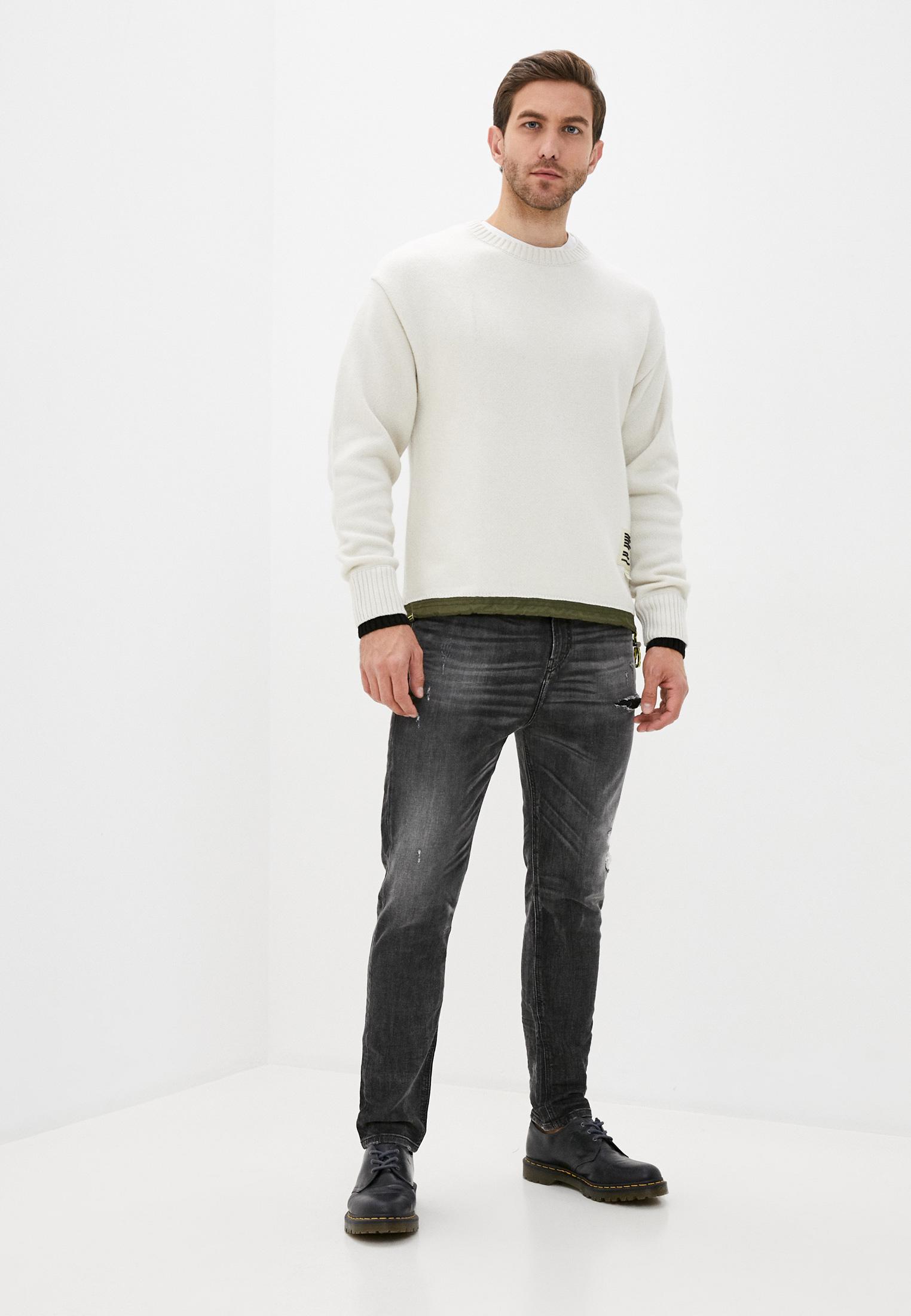 Мужские зауженные джинсы Diesel (Дизель) 00SSTD0077S: изображение 6