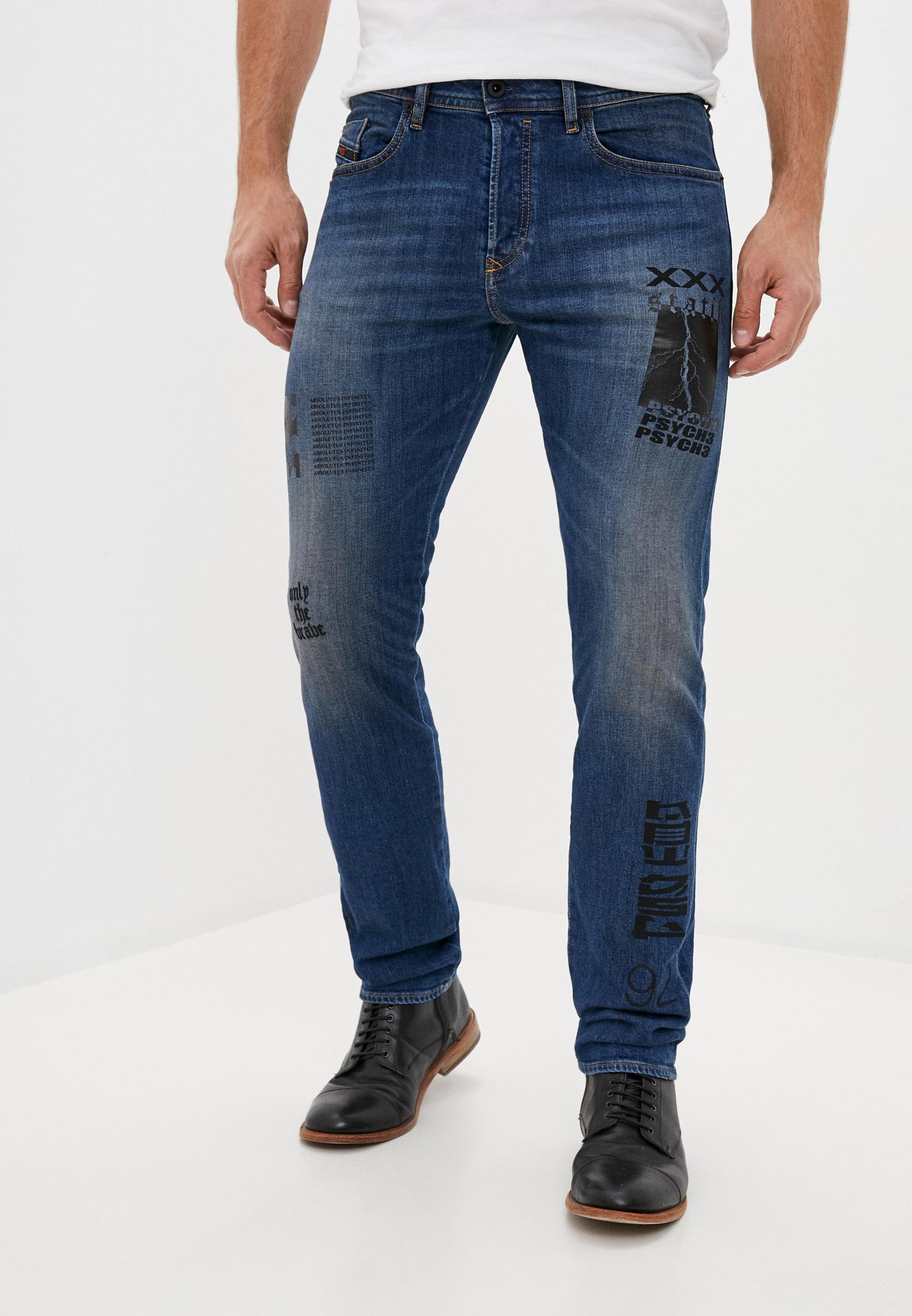 Мужские зауженные джинсы Diesel (Дизель) 00SU11087AW